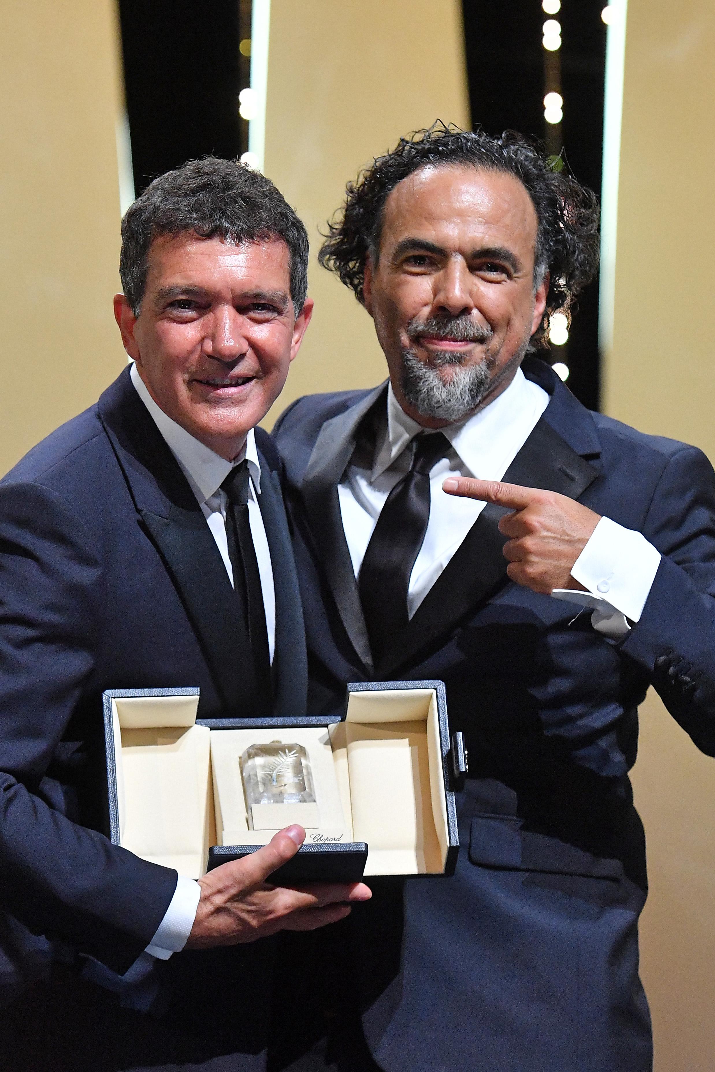 Antonio Banderas Alejandro González Iñárritu