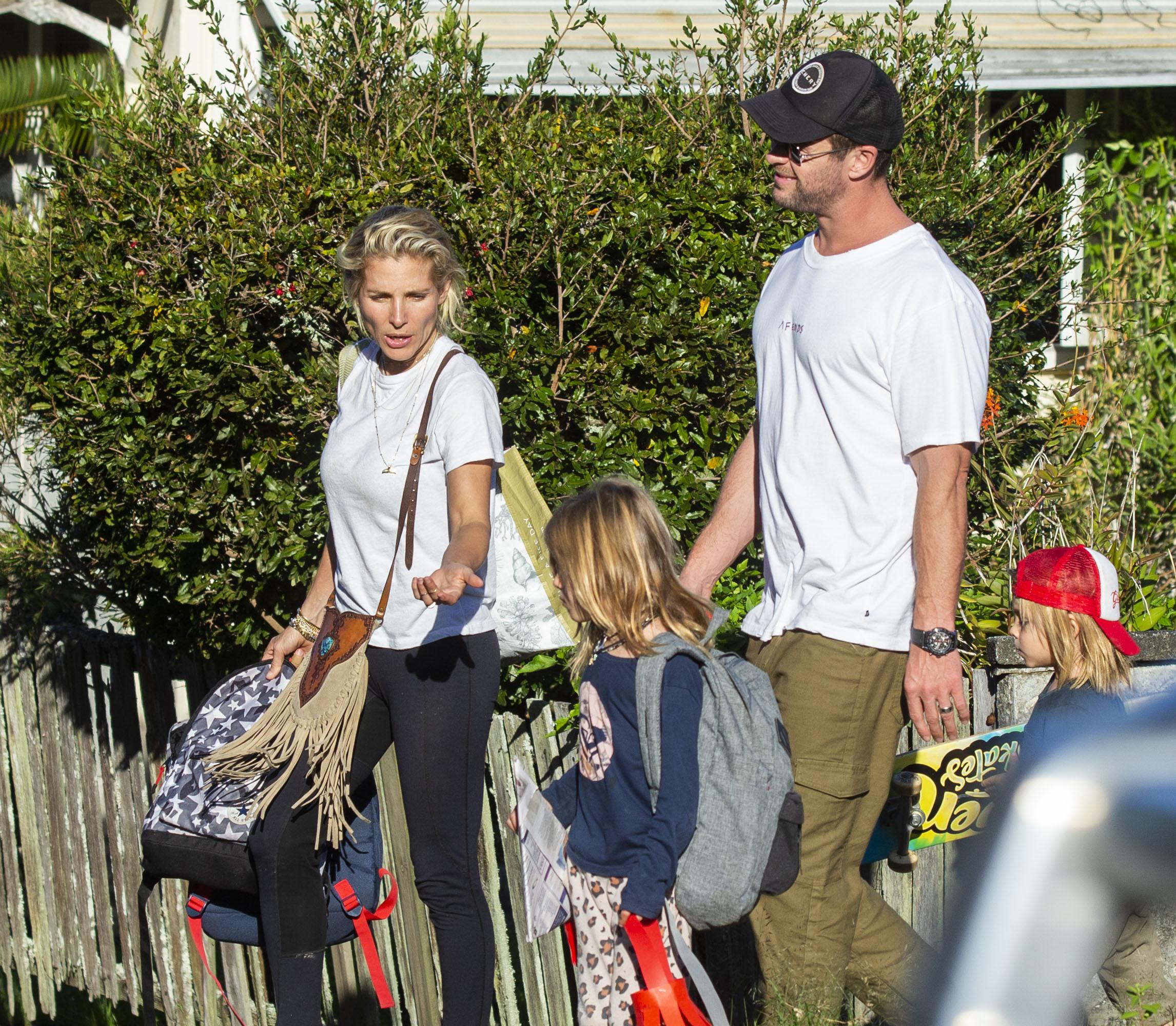 Elsa Pataky Chris Hemsworth hijos