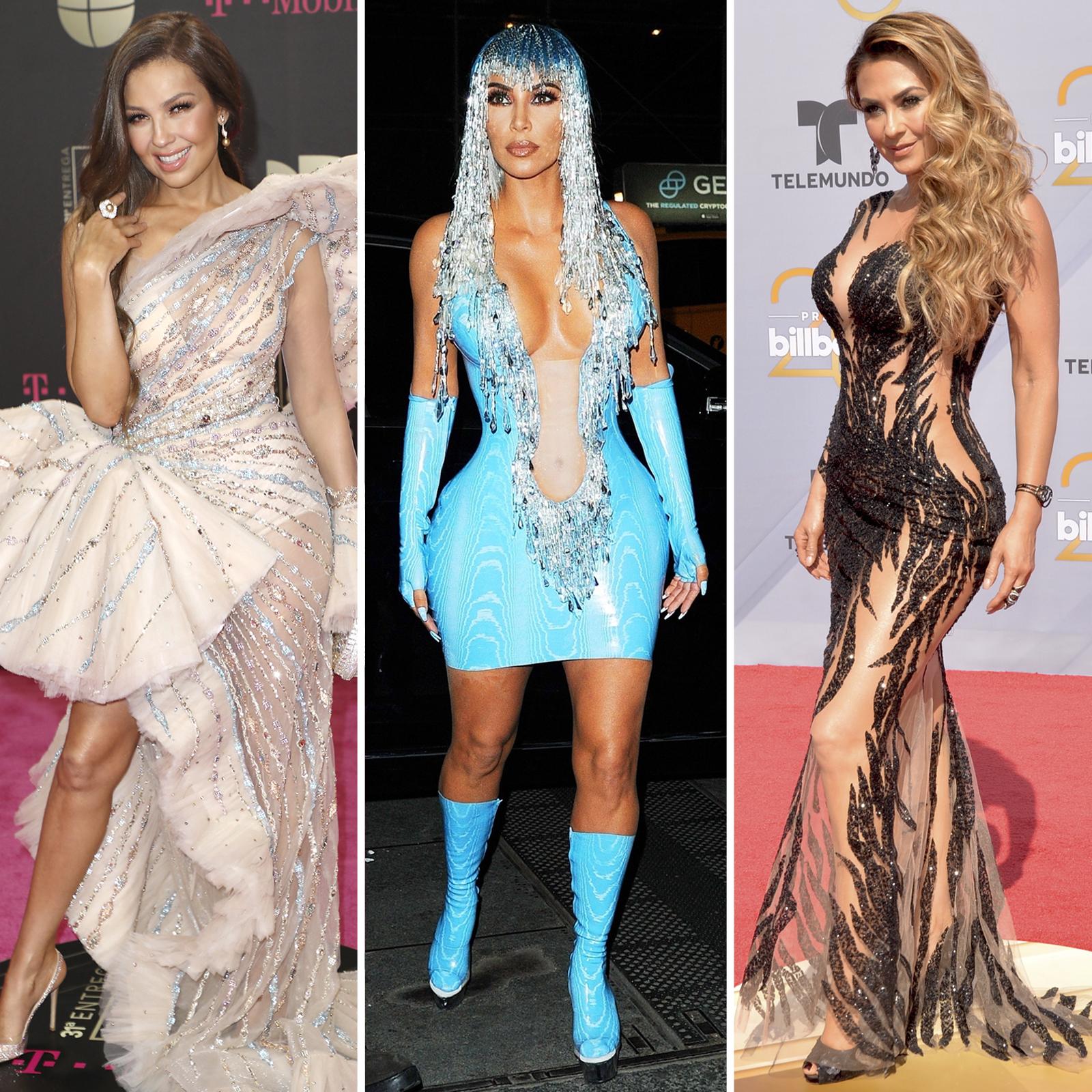 Thalia, Kim Kardashian y Aracely Arambula