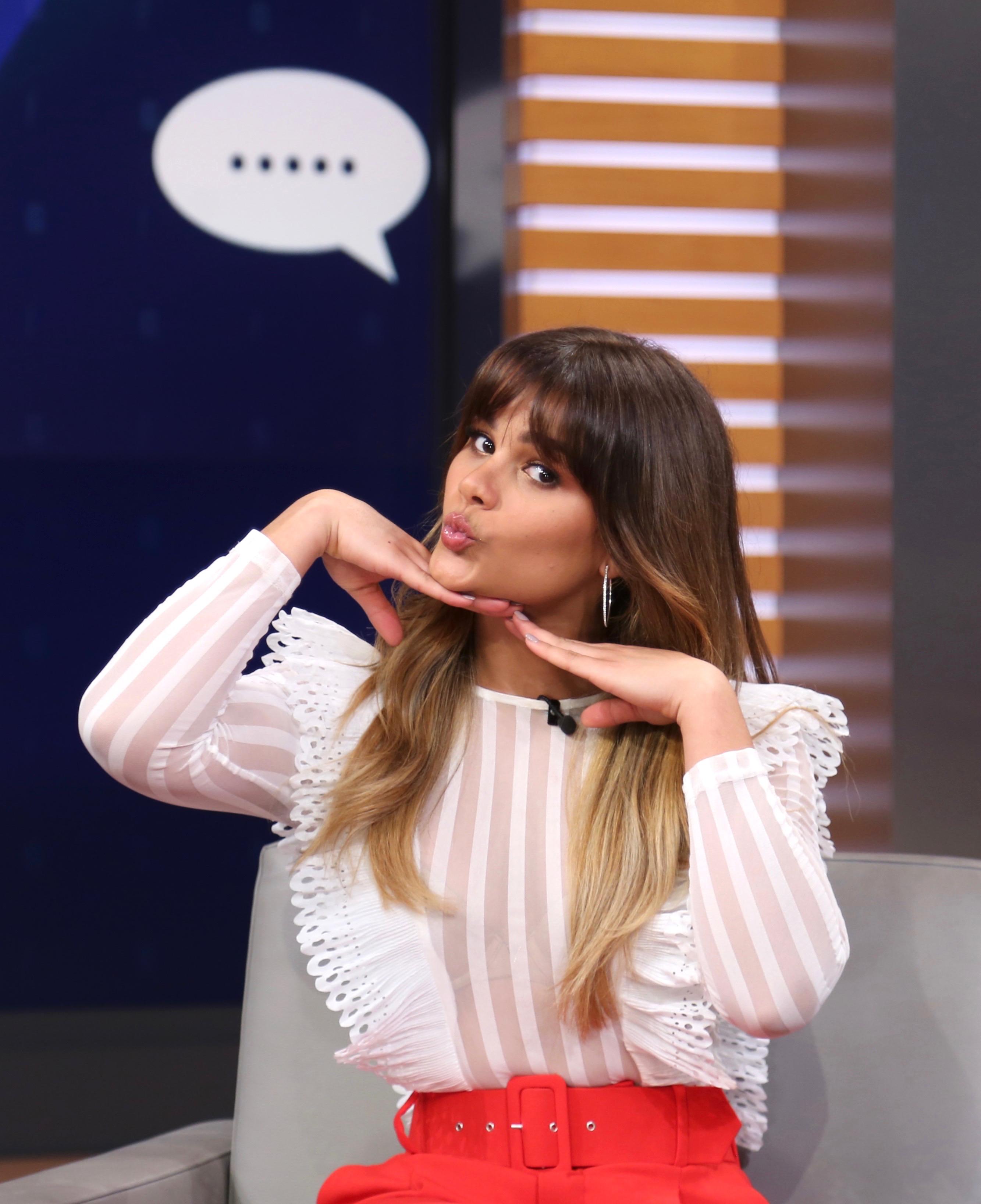 Clarissa Molina, nuevo look