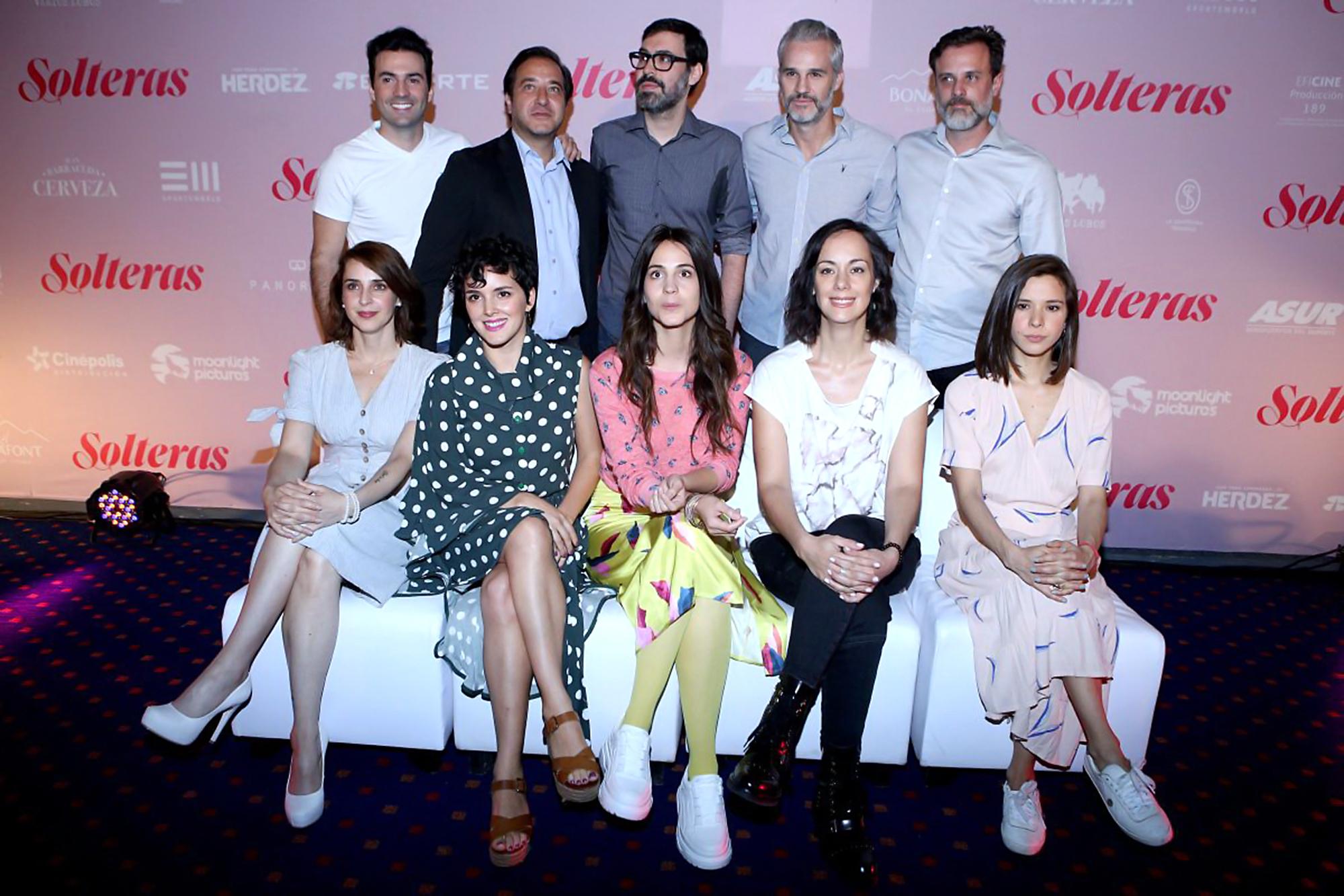 Irán Castillo, Gabriela de la Garza, Sophie Alexander, Cassandra Ciangherotti y Mariana Cabrera
