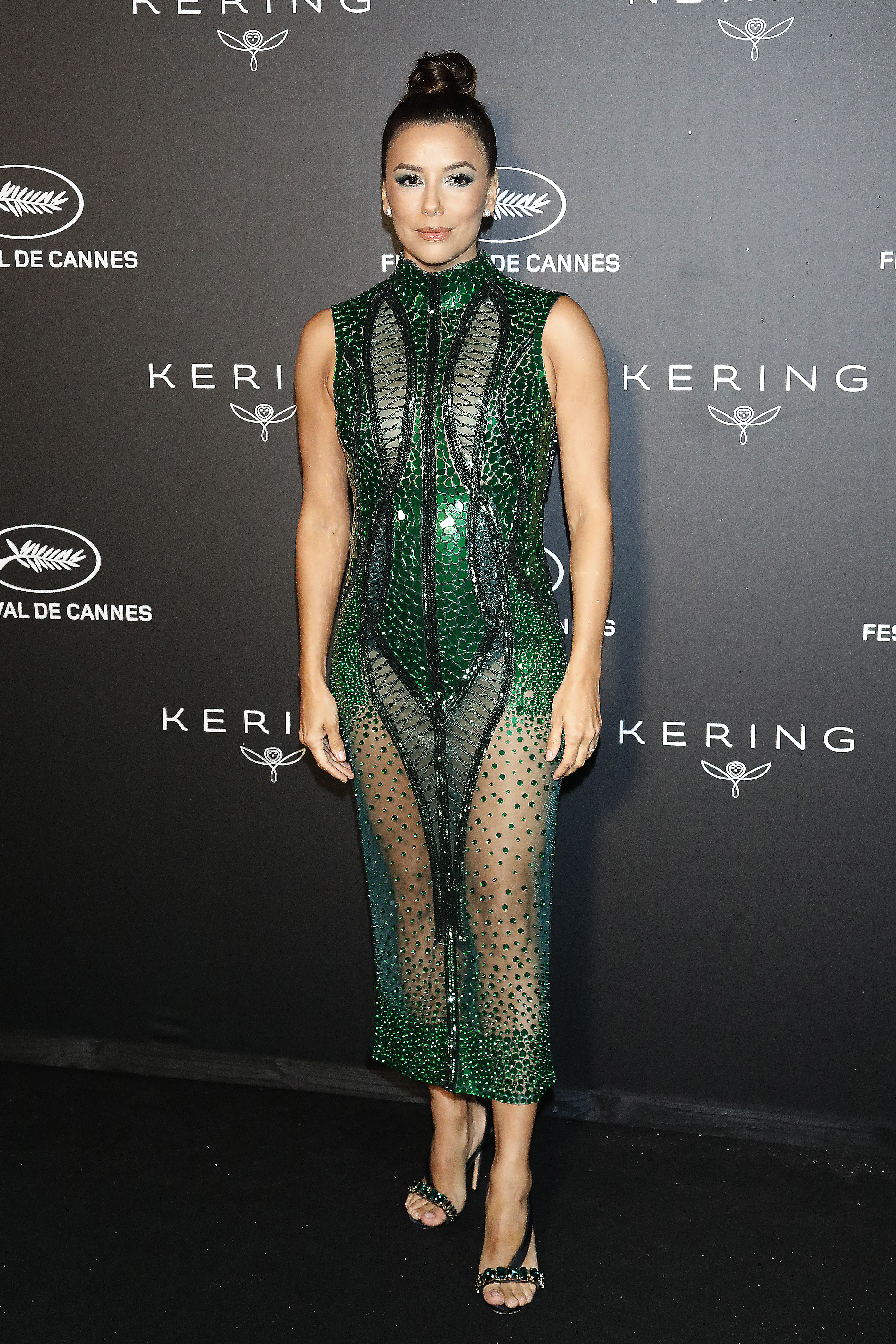 Kering And Cannes Festival Official Dinner Photocall at Place de la Castre