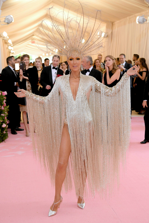 Celine Dion, look, Met Gala, 2019