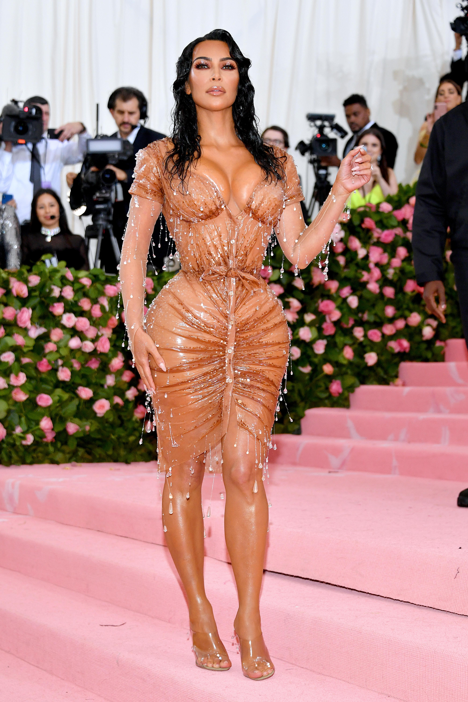 Kim Kardashian, look, met gala, 2019