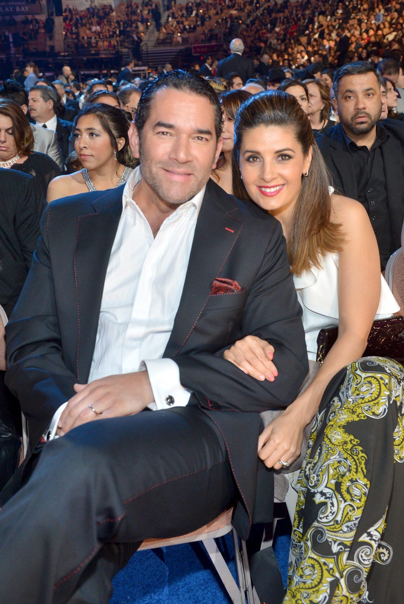 Eduardo Santamarina y Mayrín Villanueva