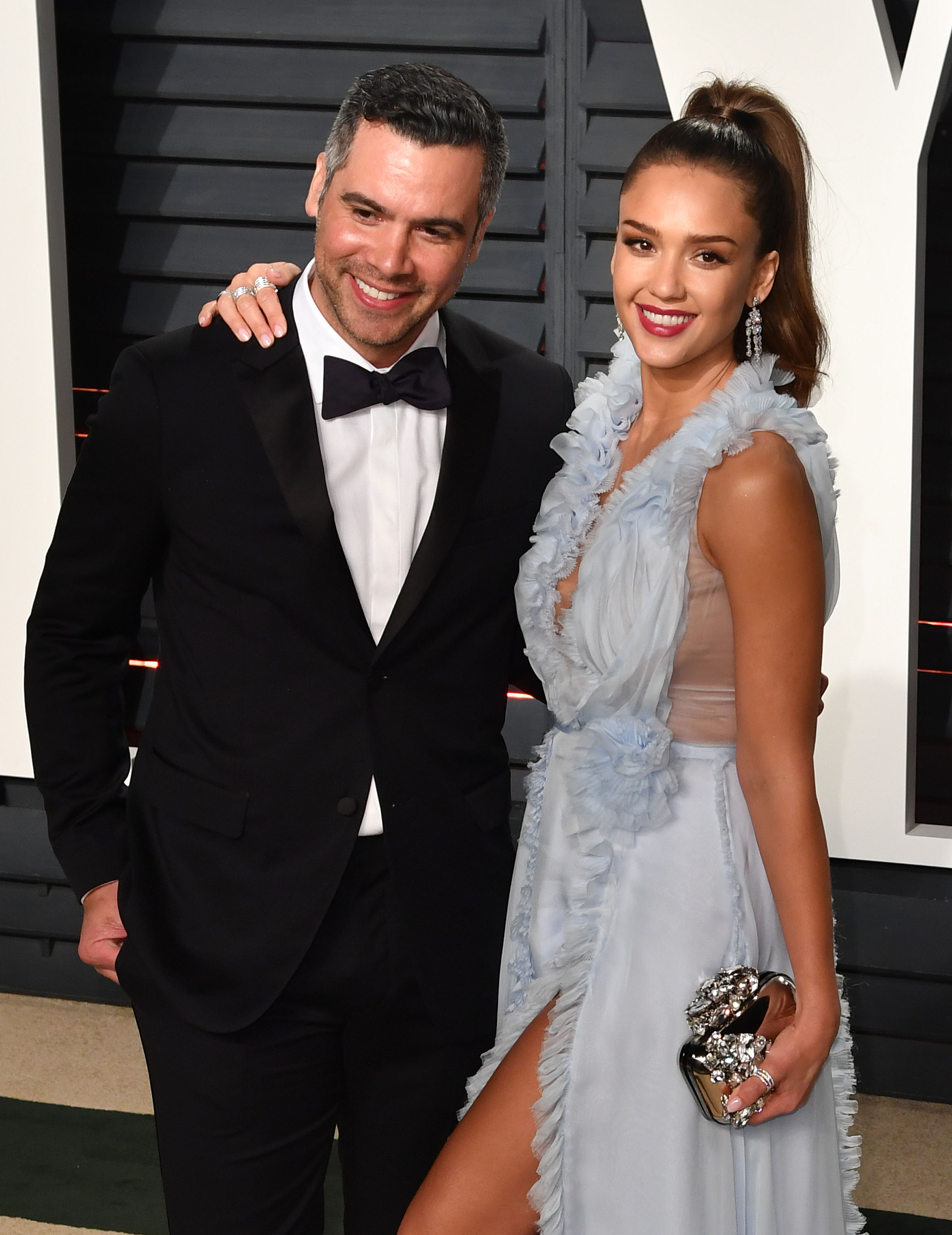 Cash Warren y Jessica Alba