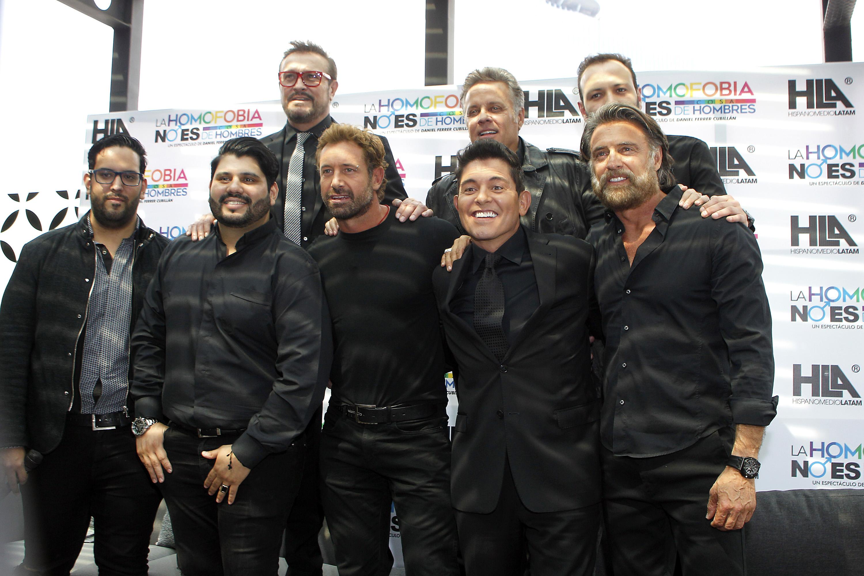 Juan Soler, Gabriel Soto, Alexis Ayala, Ernesto Laguardia, Arturo Peniche
