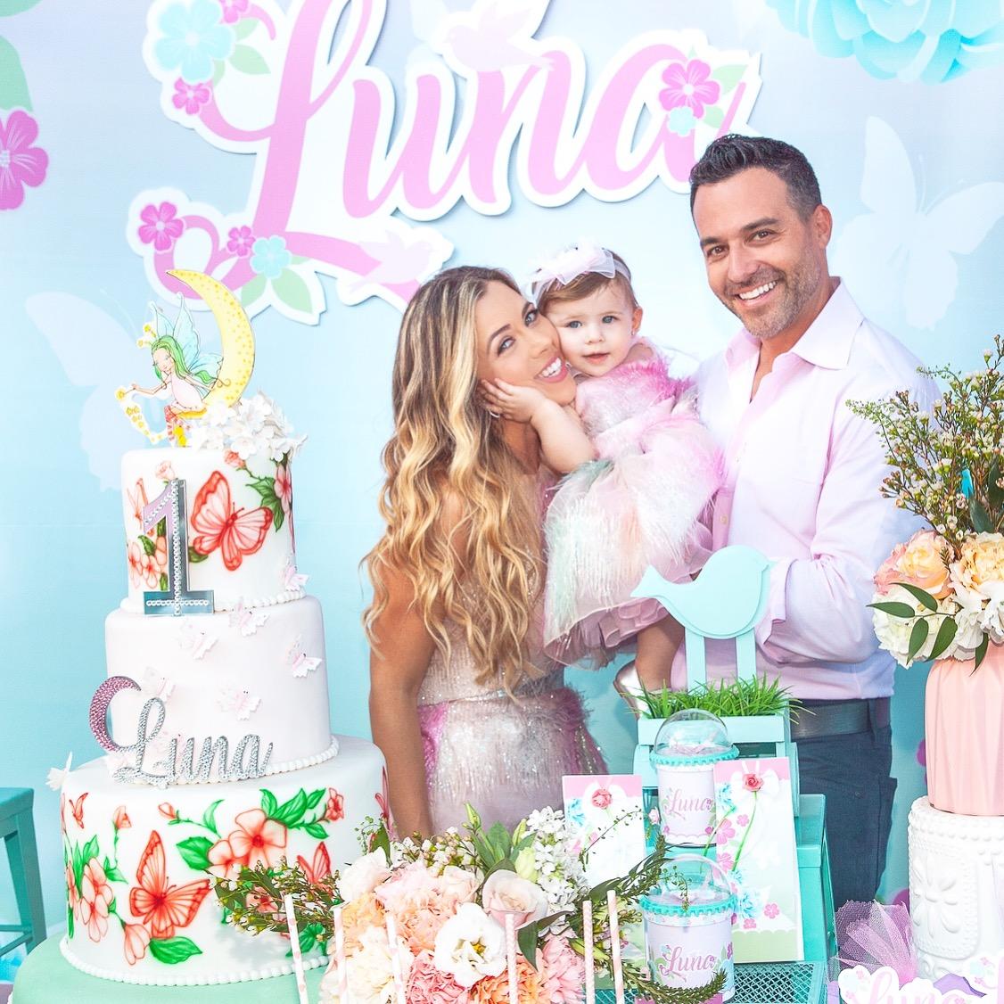 Ximena Duque y familia