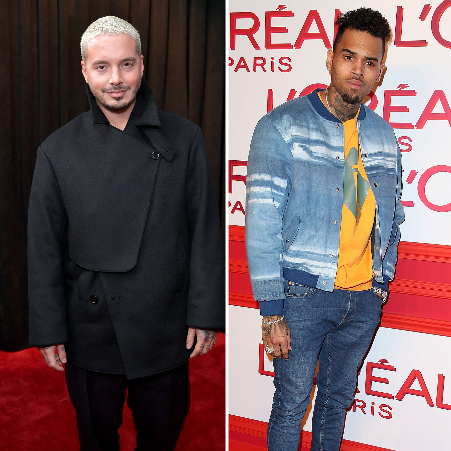 J Balvin, Chris Brown