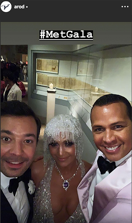 Jennifer López, Alex Rodríguez, Jimmy Fallon