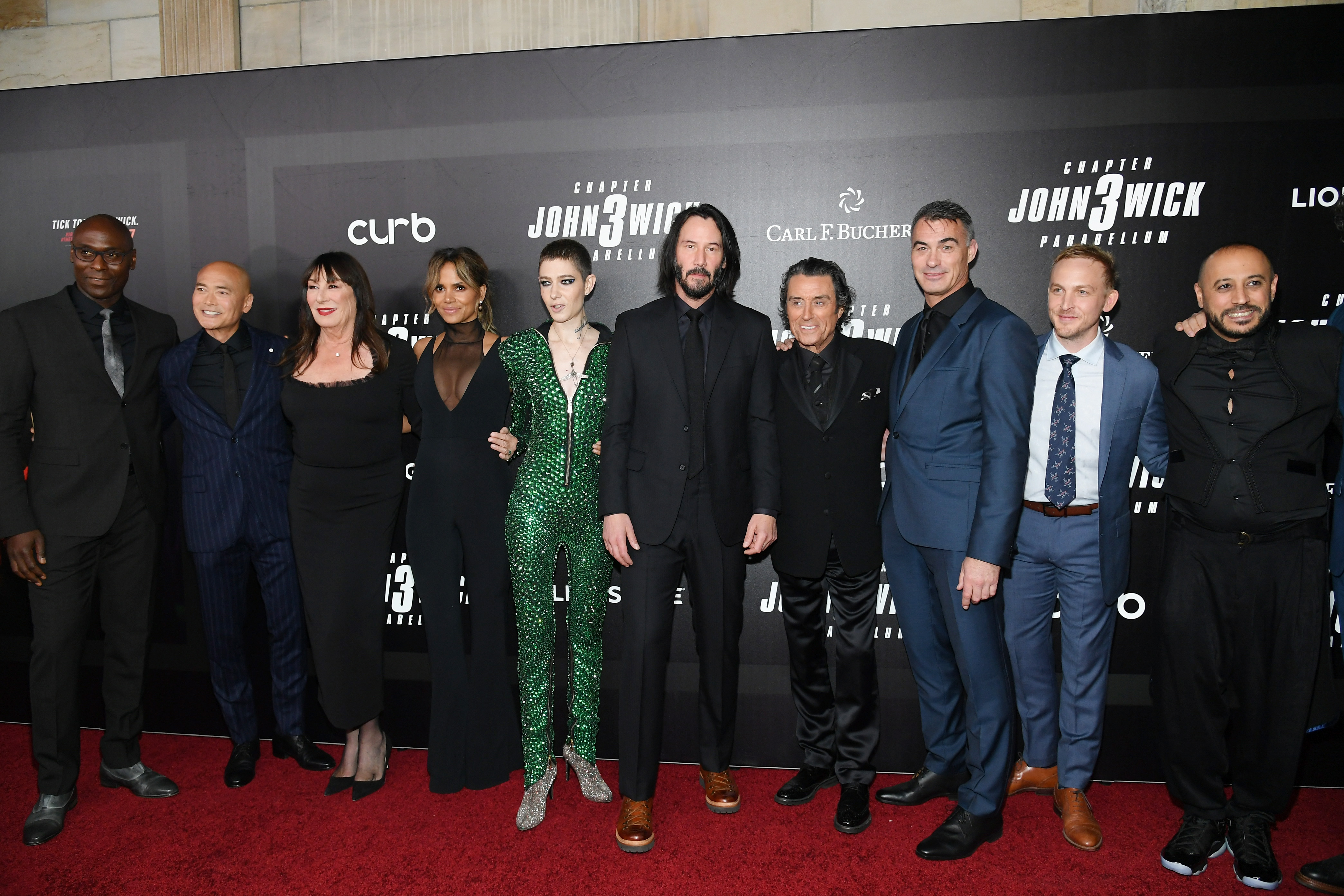 Halle Berry, Asia Kate Dillon, Keanu Reeves