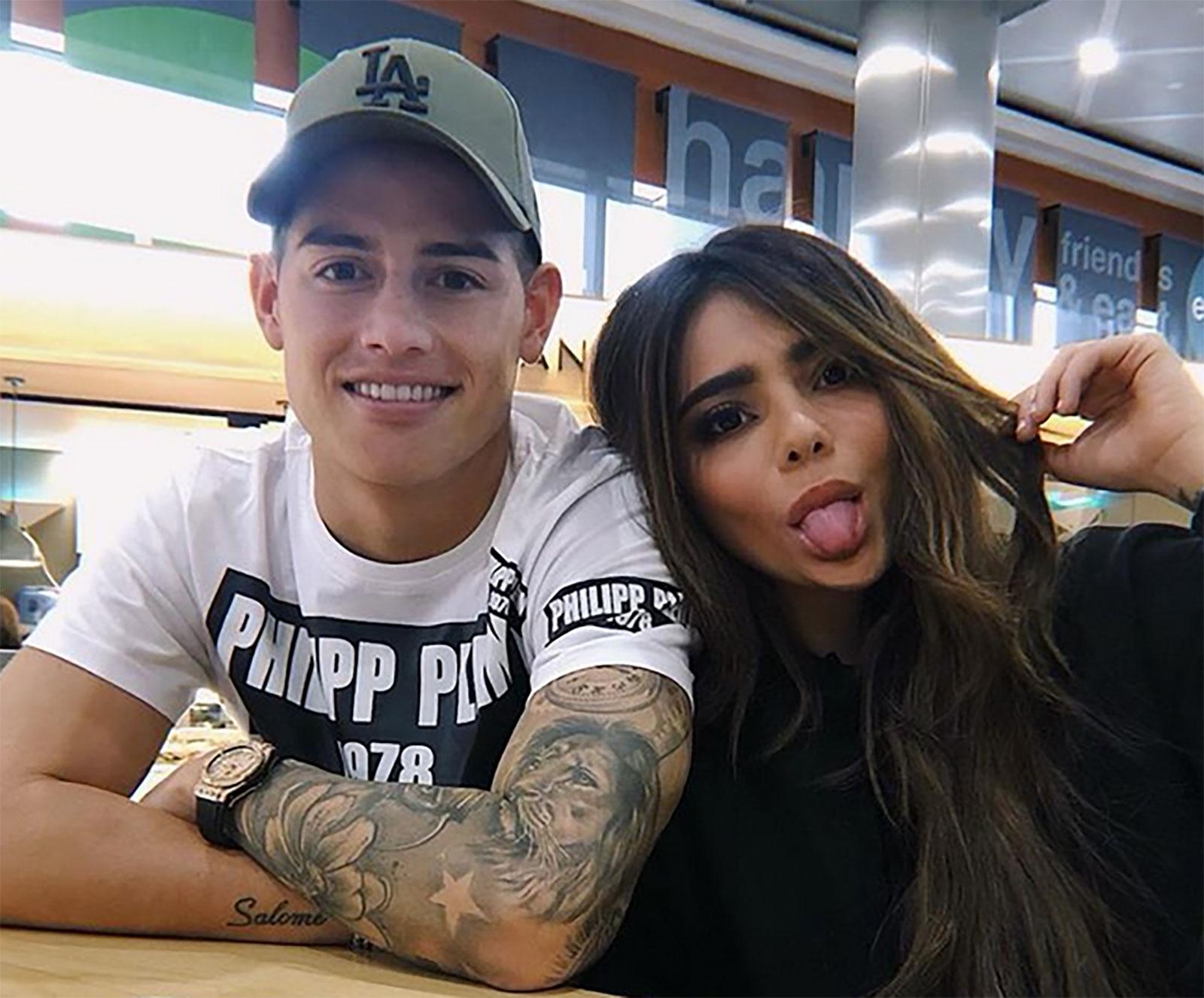 Juana Valentina Rodríguez, James Rodríguez
