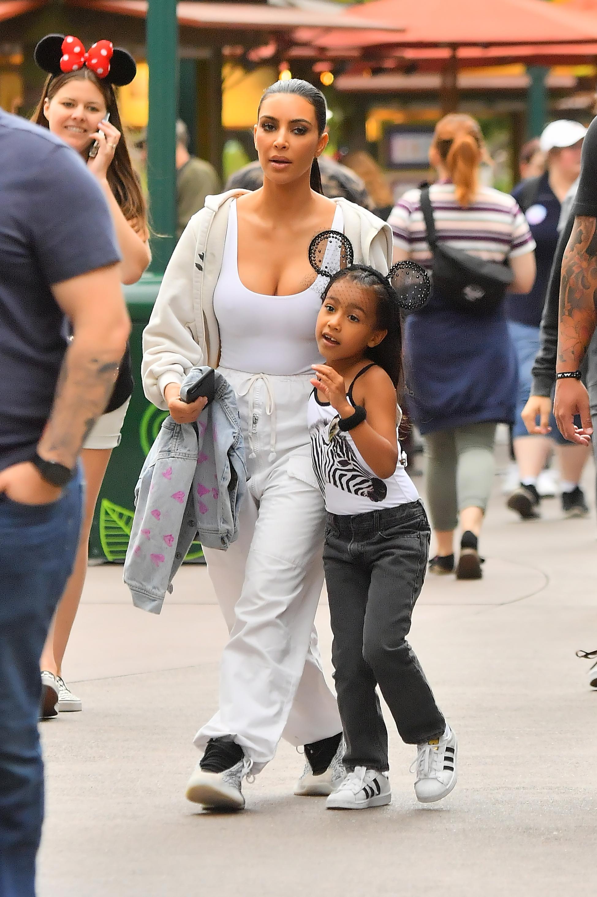Kim Kardashian West North West