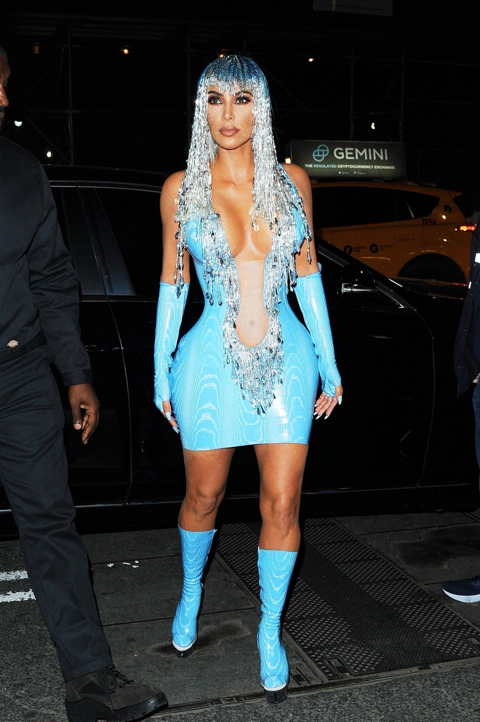 Kim kardashian, looks, Met Gala, 2019