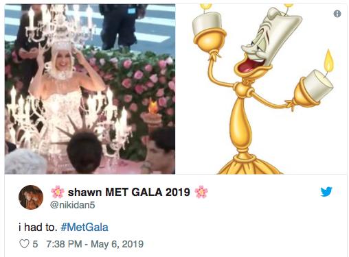 Memes del Met Gala 20198
