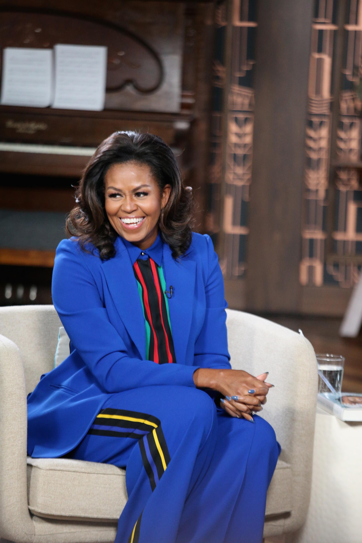 """Michelle Obama Visits """"BookTube"""""""