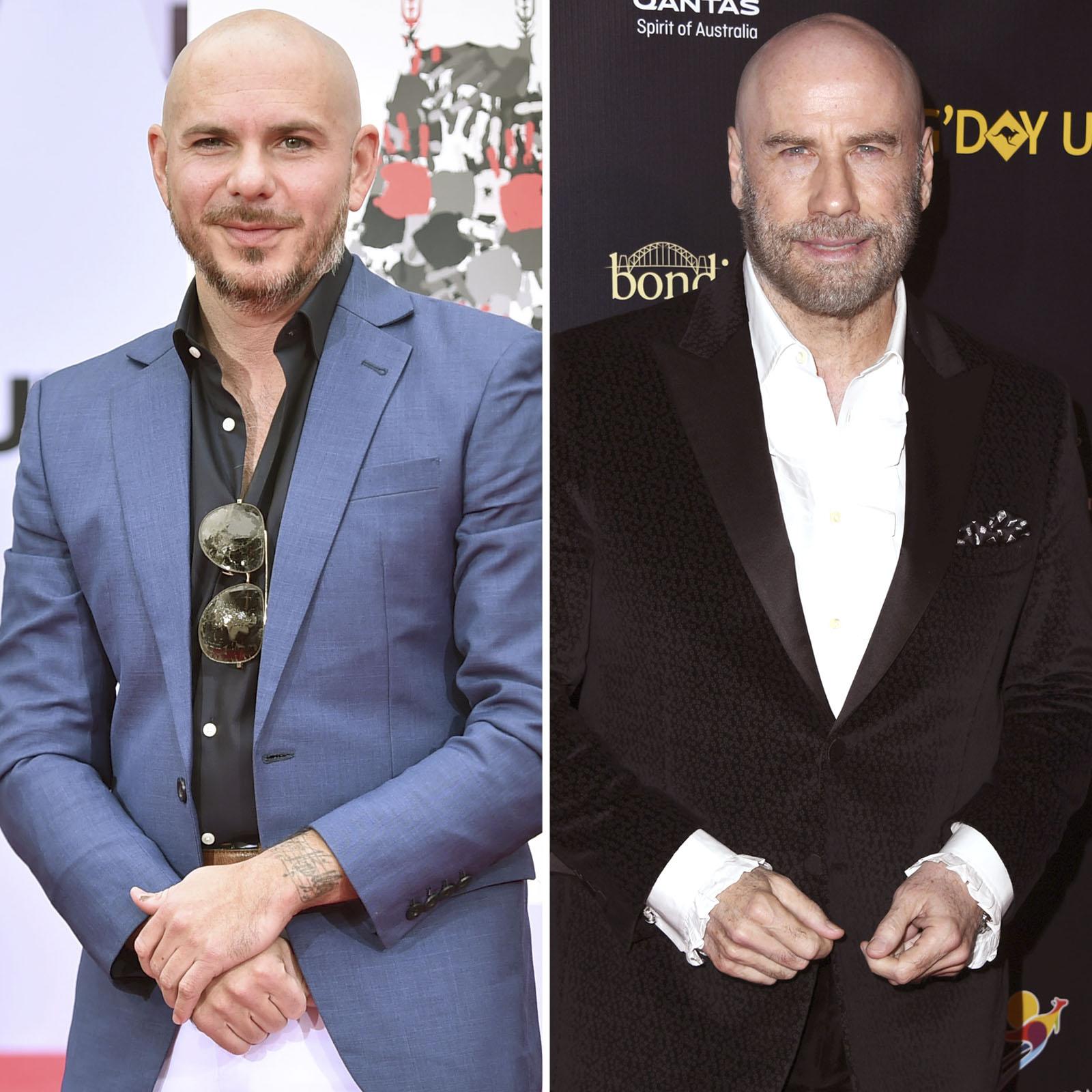 Pitbull y John Travolta