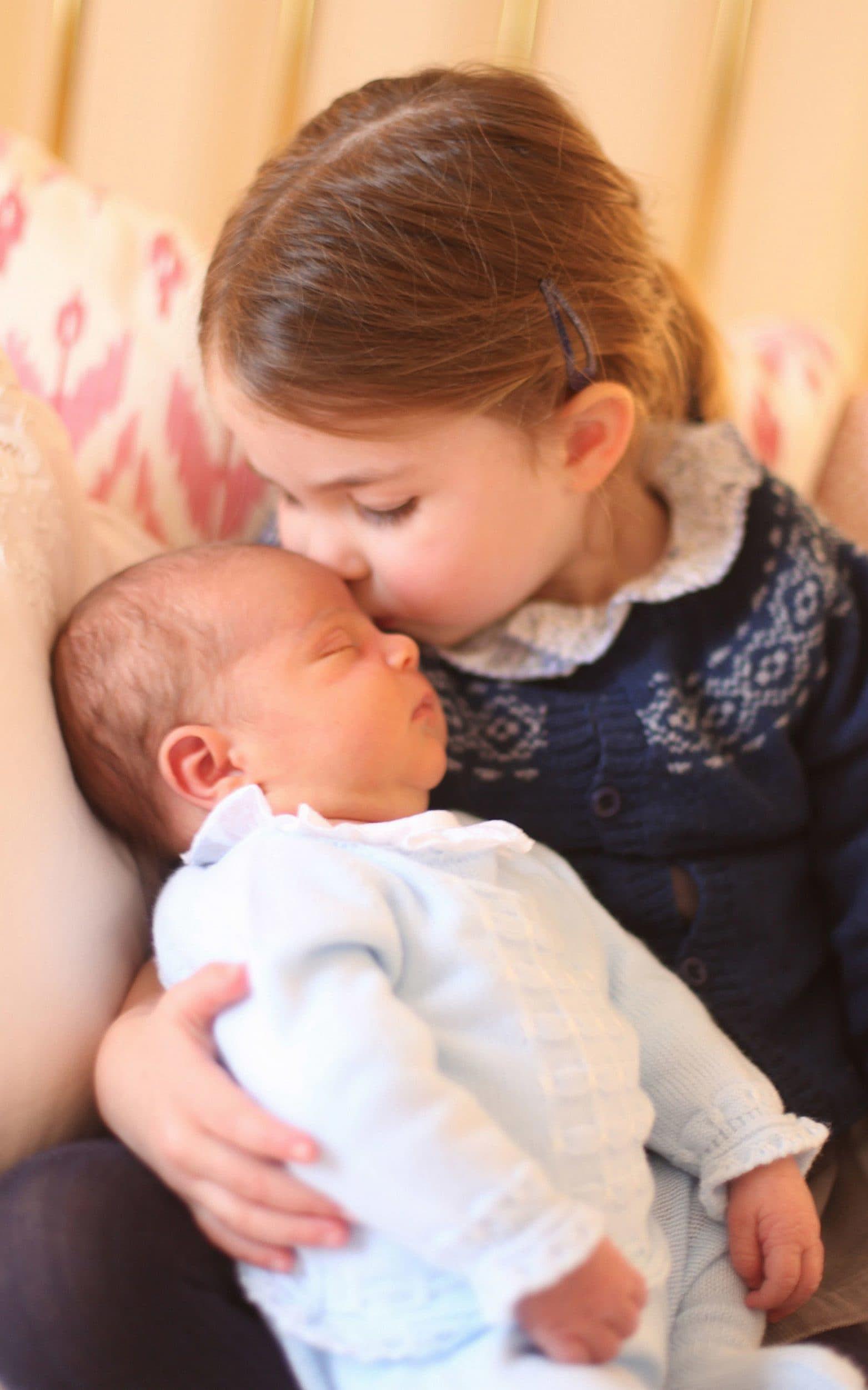 Princesa Charlotte y el príncipe Louis
