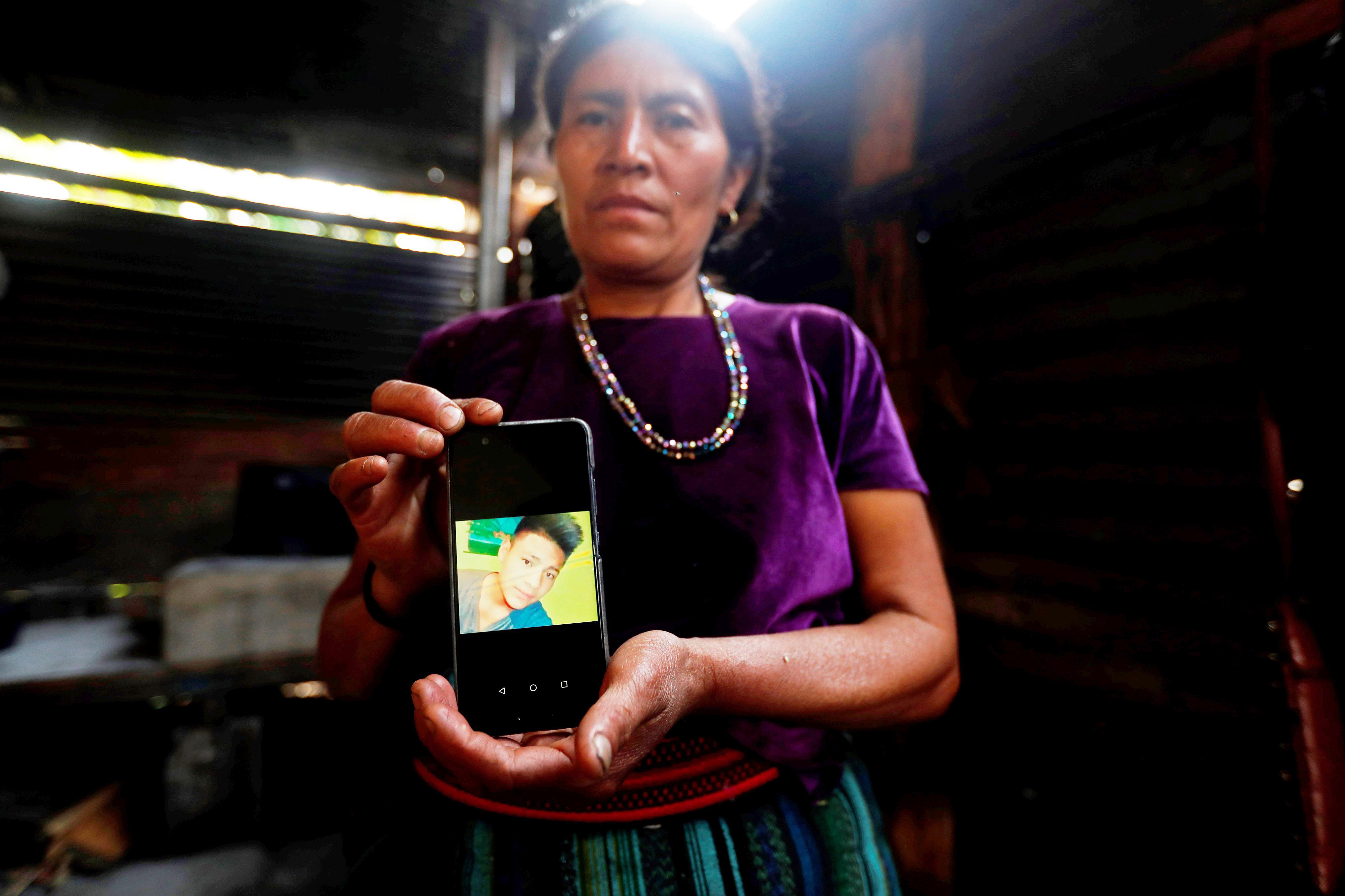 Rigoberta Vasquez, madre de carlos gregorio hernandez vasquez