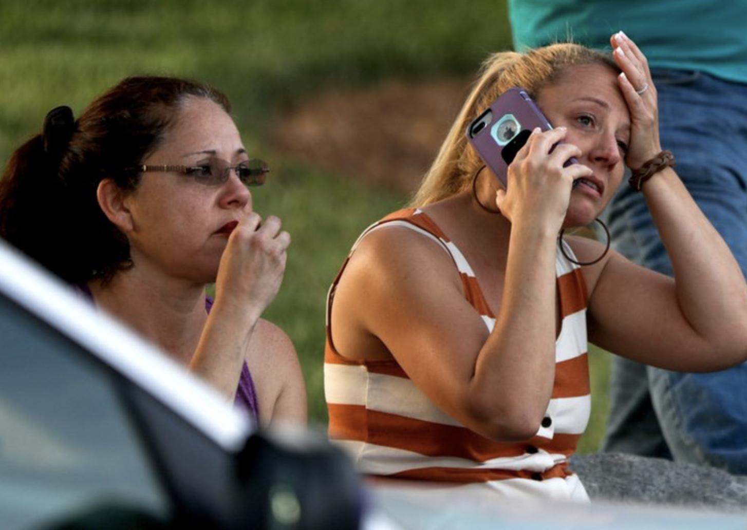 UNC Charlotte shootingLOGAN CYRUS/AFP/Getty Images