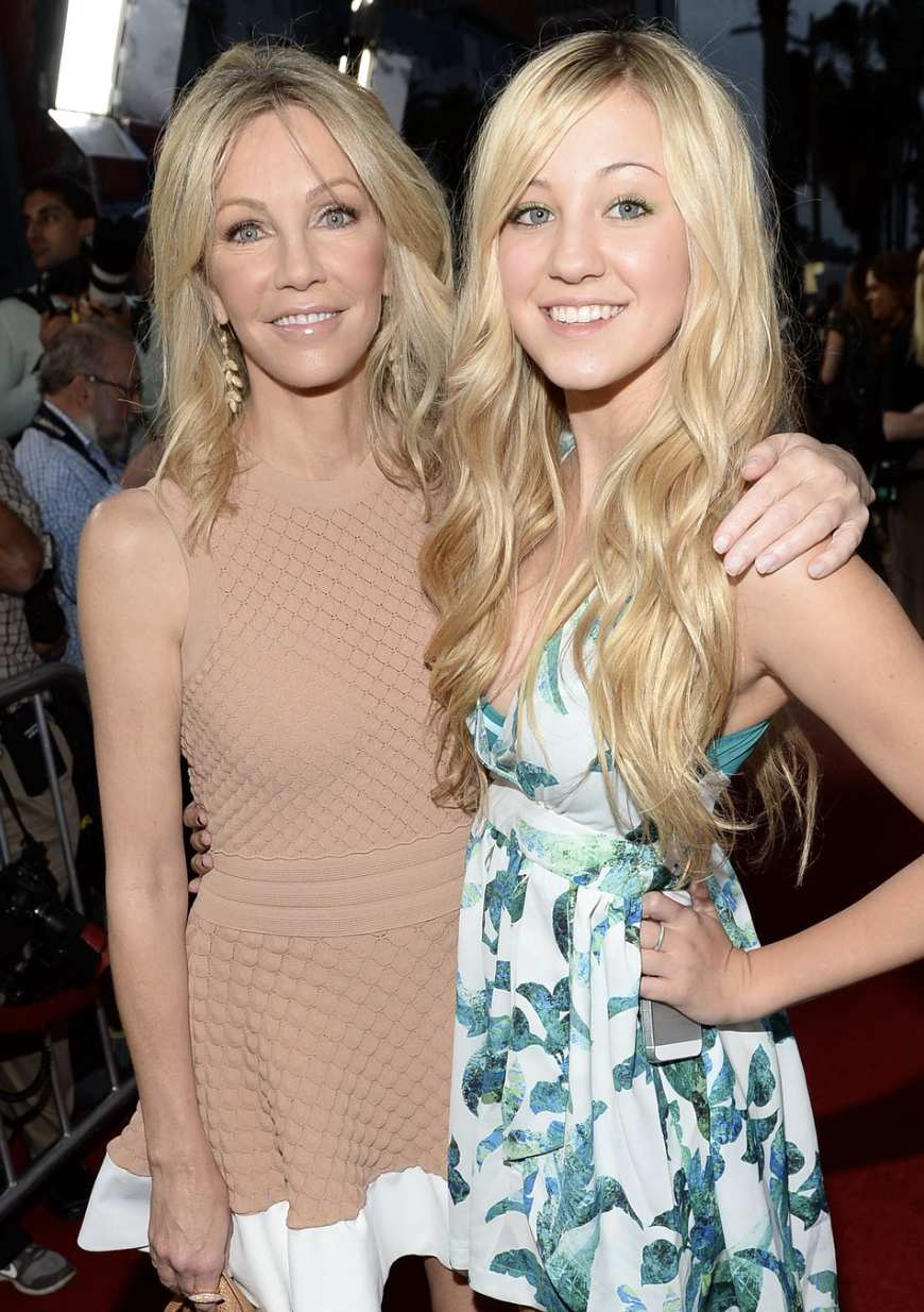 Heather Locklear and daughter Ava MICHAEL BUCKNER/GETTY IMAGES