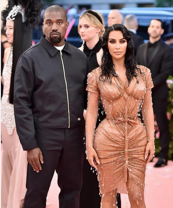 Kanye West and Kim Kardashian West Theo Wargo/WireImage
