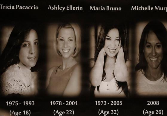 Gargiulo's alleged victims Tricia Pacaccio, Ashley Ellerin, Maria Bruno and Michelle Murphy