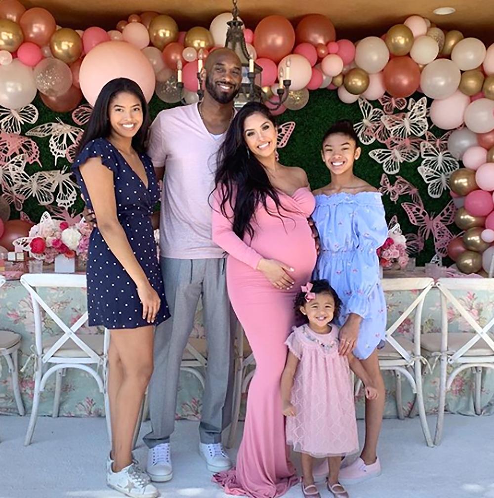 Kobe Bryant Vanessa Bryant Familia