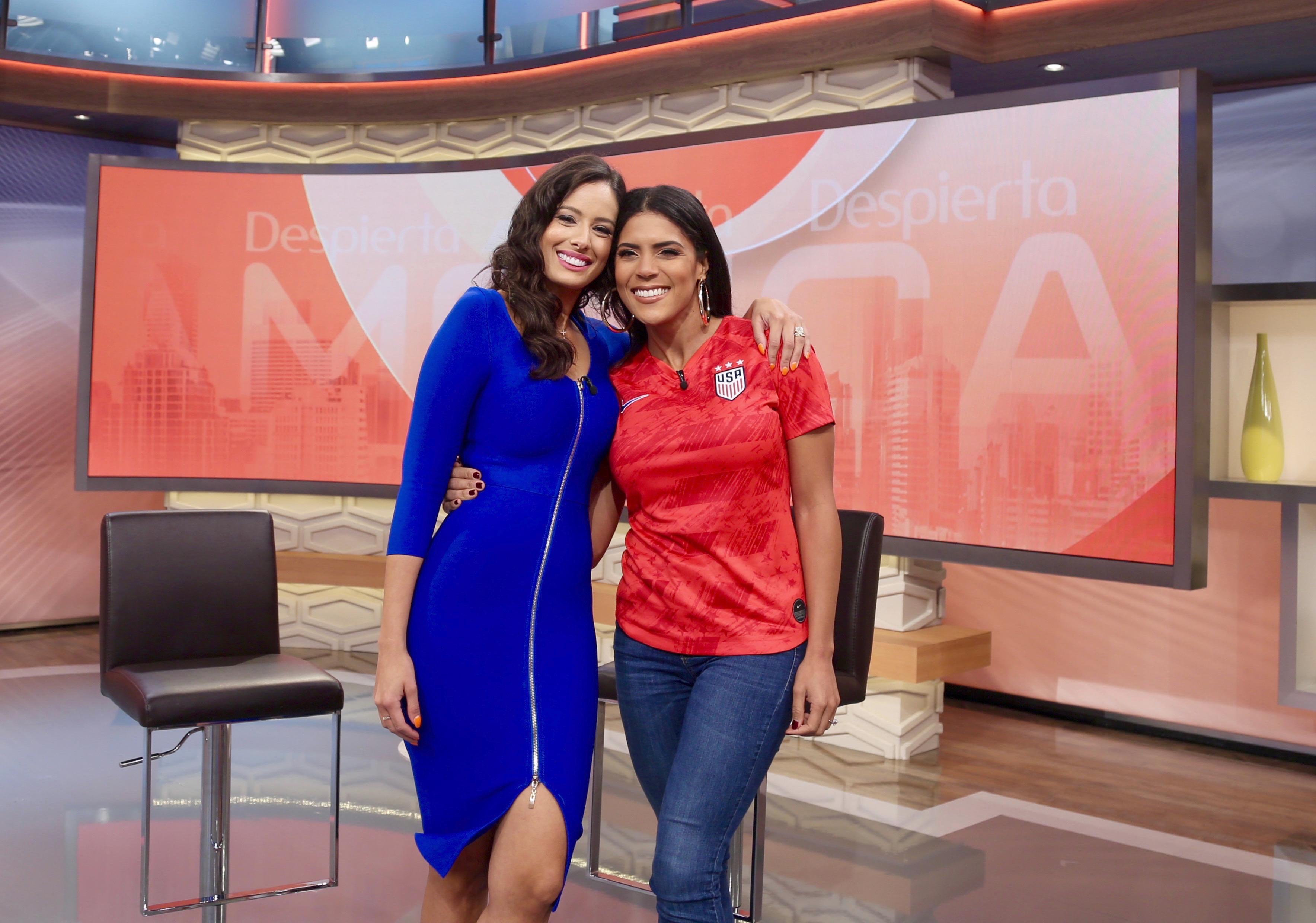 Aleyda Ortiz en despierta america, Francisca Lachapel