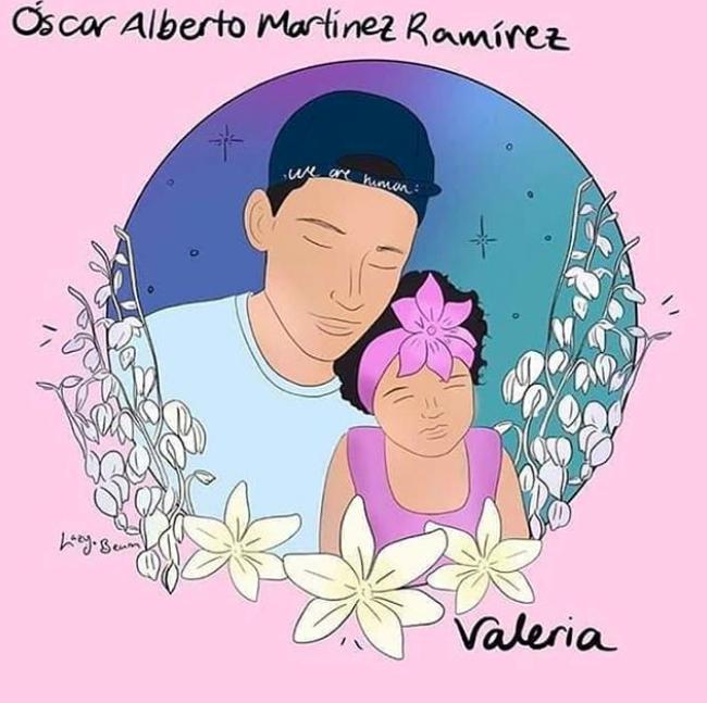 Ilustración de Óscar Alberto Martínez Ramírez, Valeria