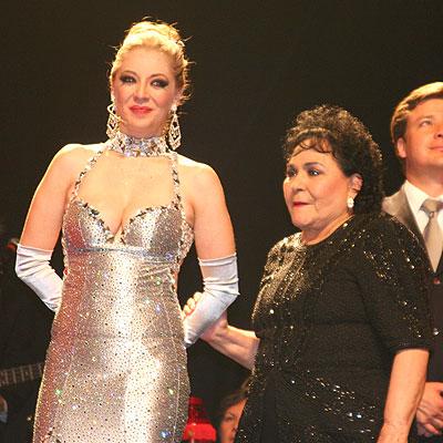 Edith Gonzalez y Carmen Salinas
