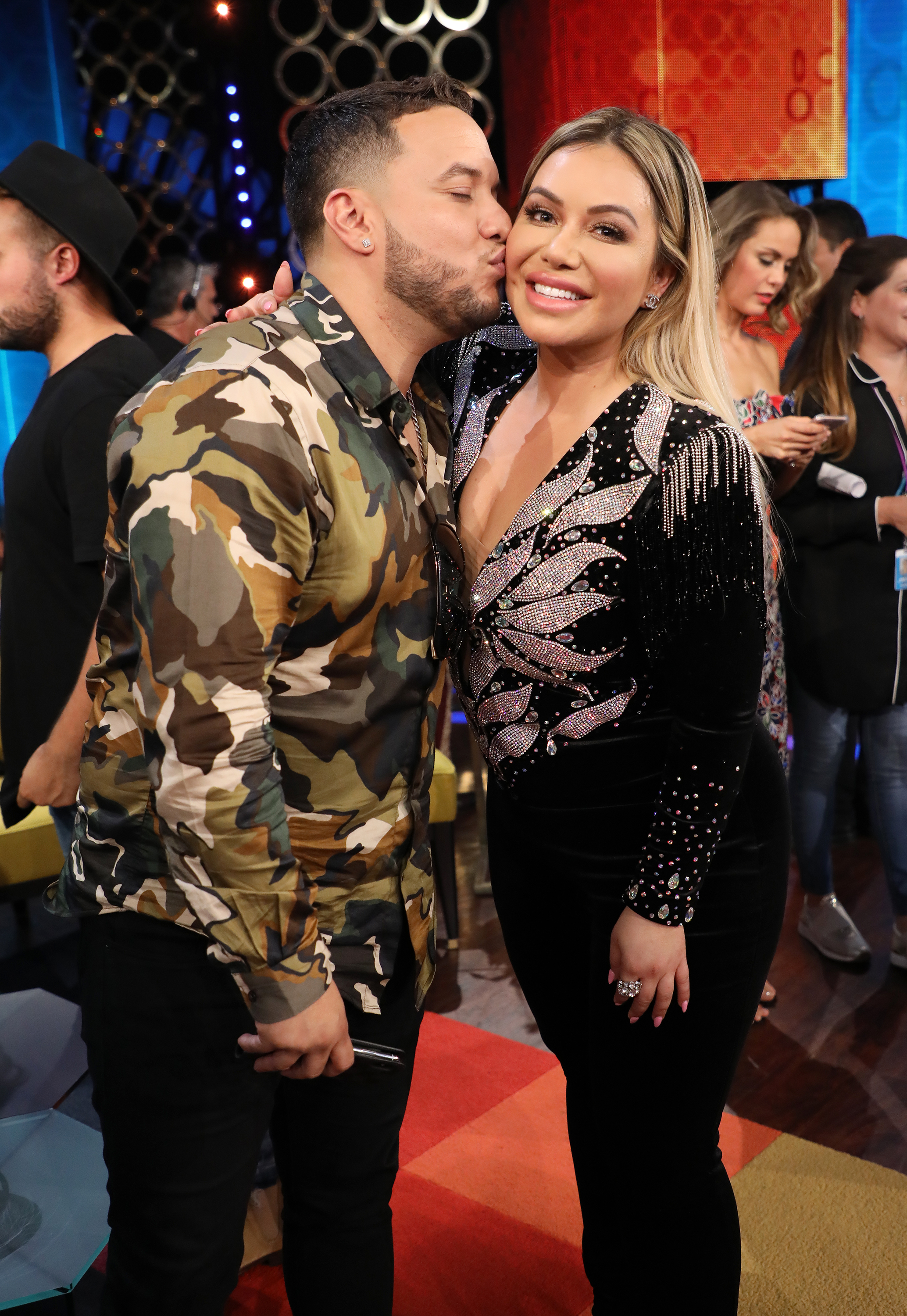 Lorenzo Mendez and Chiquis Rivera