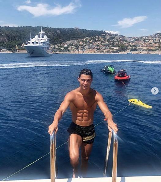 Cristiano Ronaldo yate