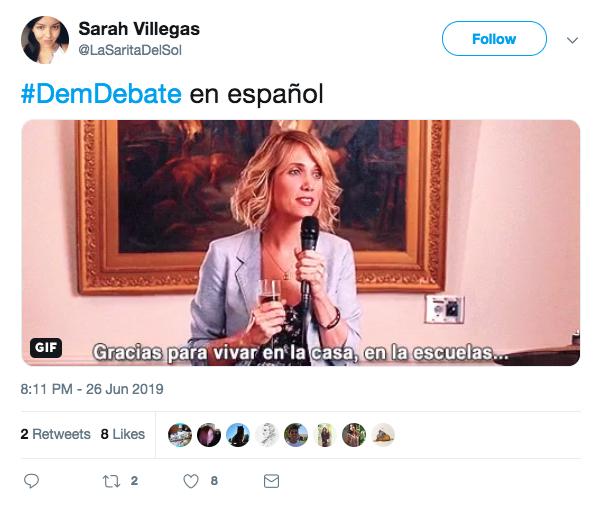 Debate Democrata memes12