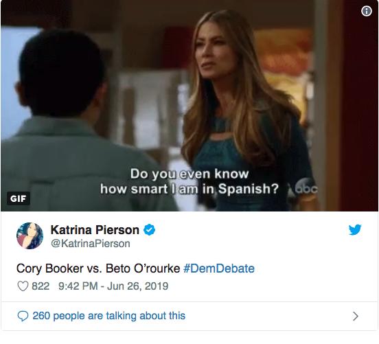 Debate Democrata memes3