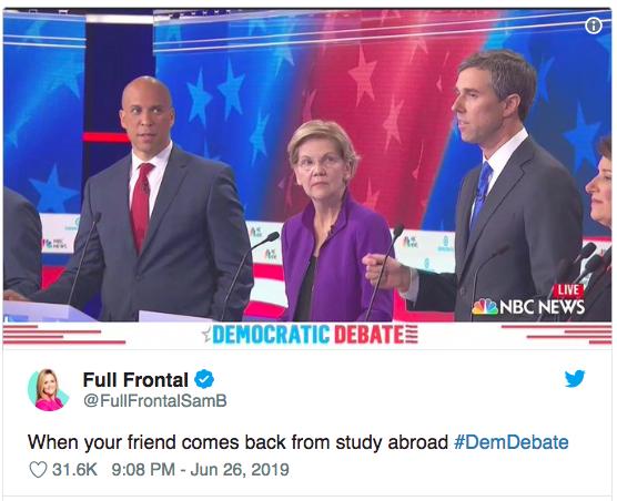Debate Democrata memes6