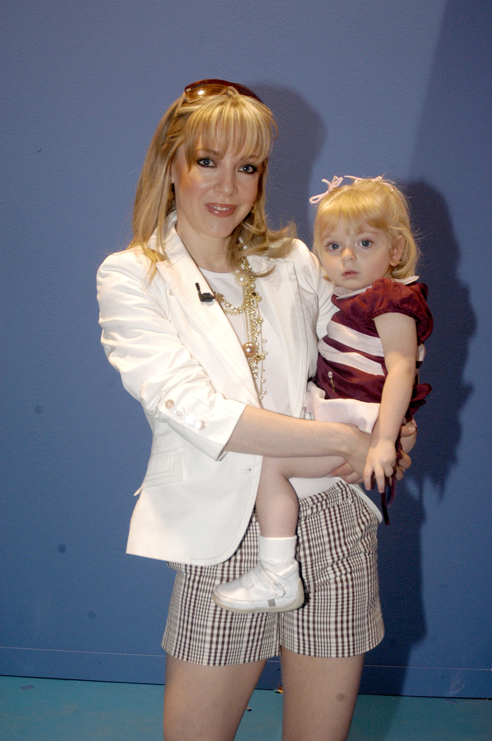 Edith González y su hija Constanza