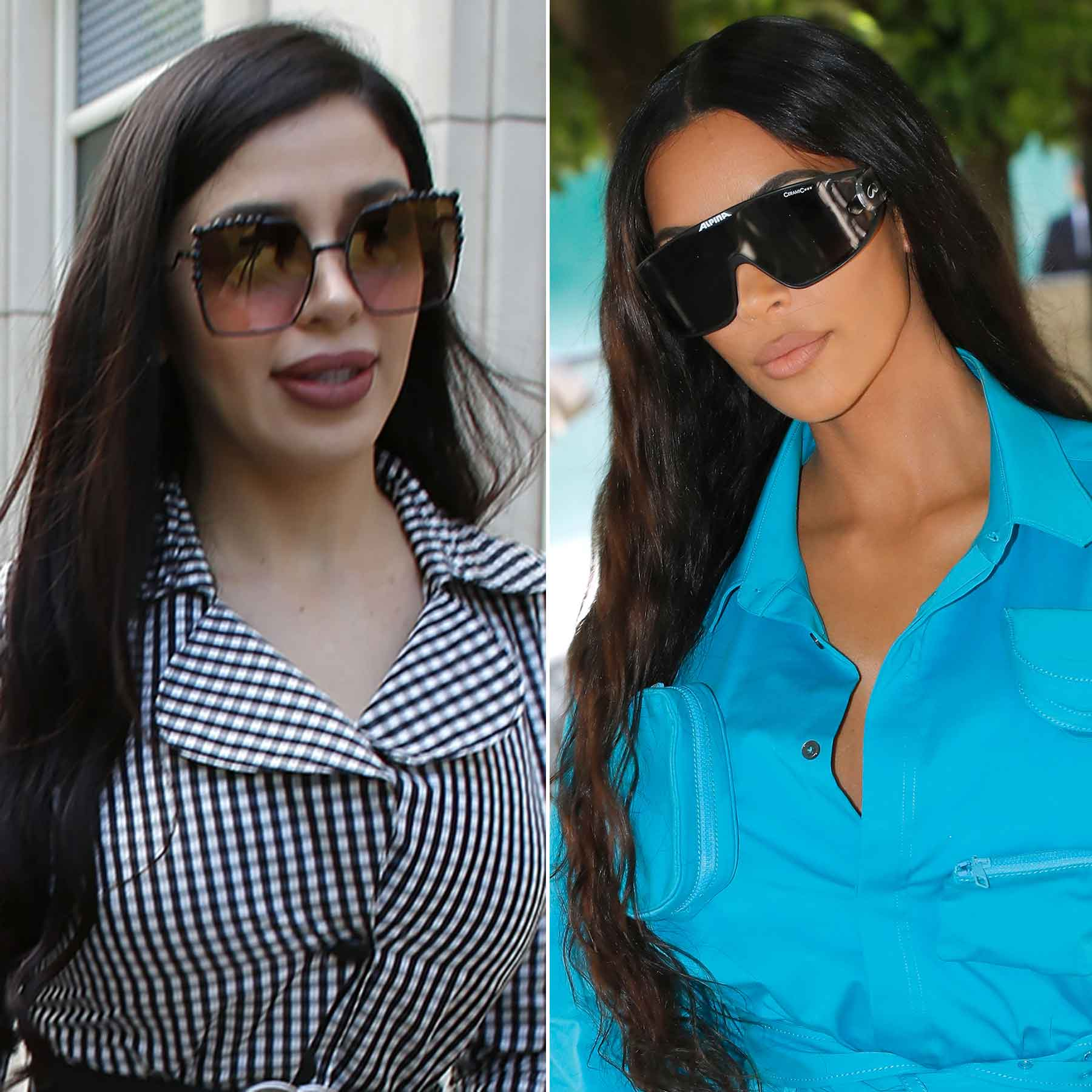 Emma Coronel; Kim Kardashian