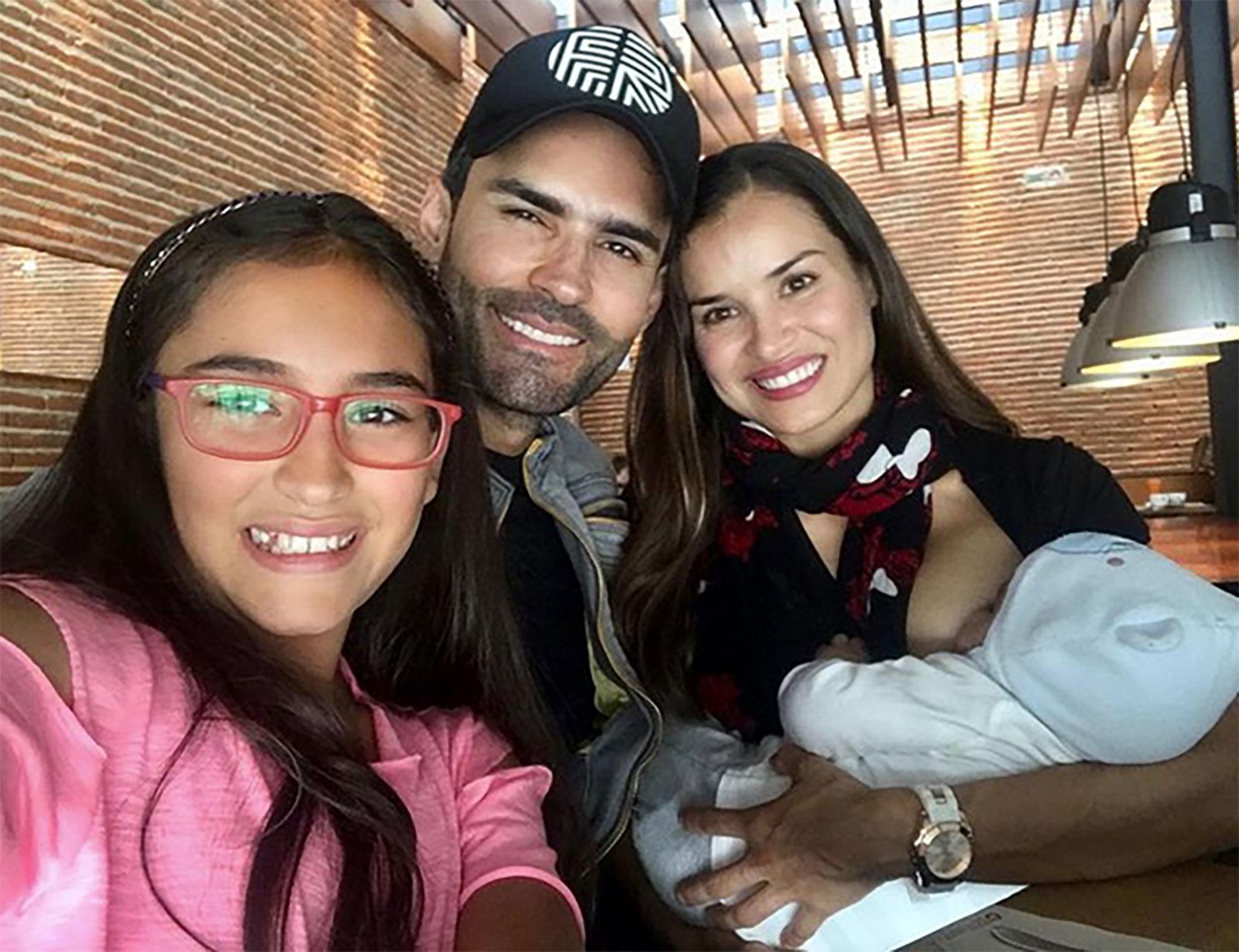 Fabián Ríos, Yuly Ferreira, familia