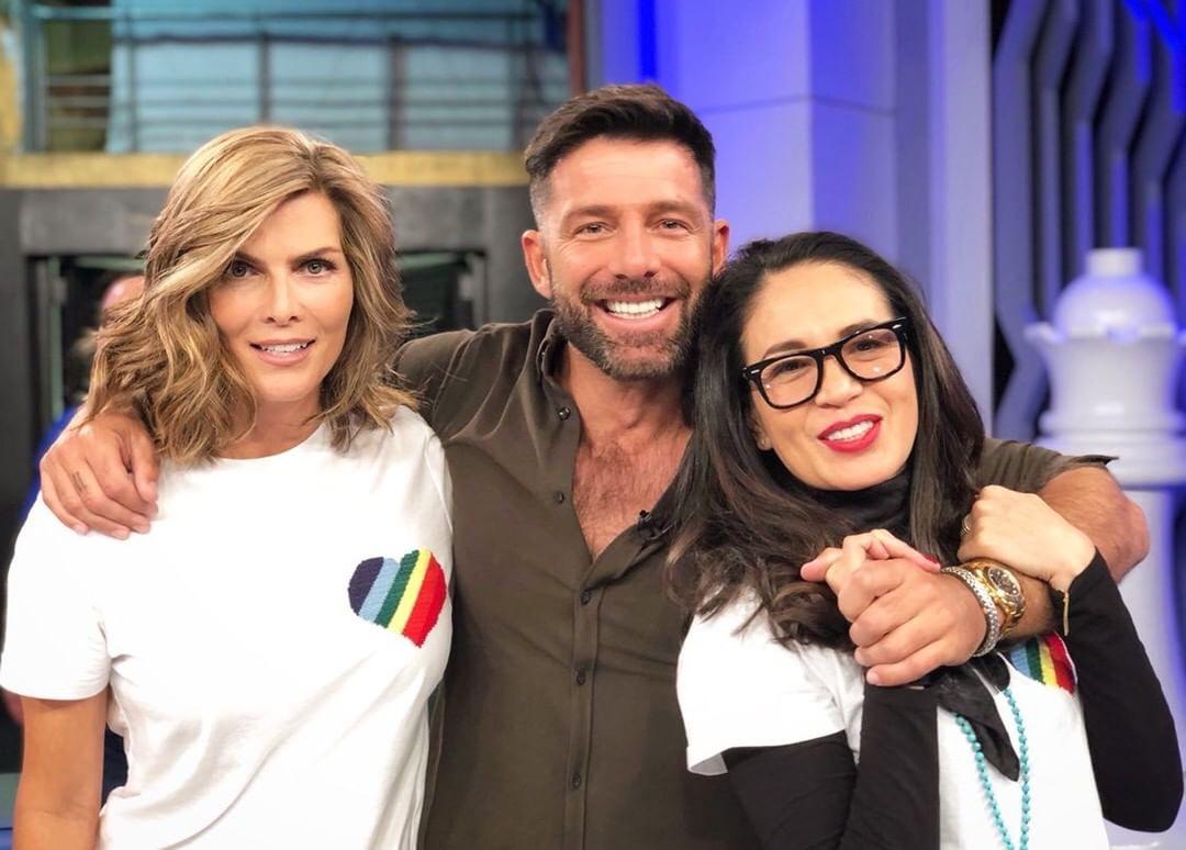 Yolanda Andrade, Federico Díaz, Monserrat Oliver,
