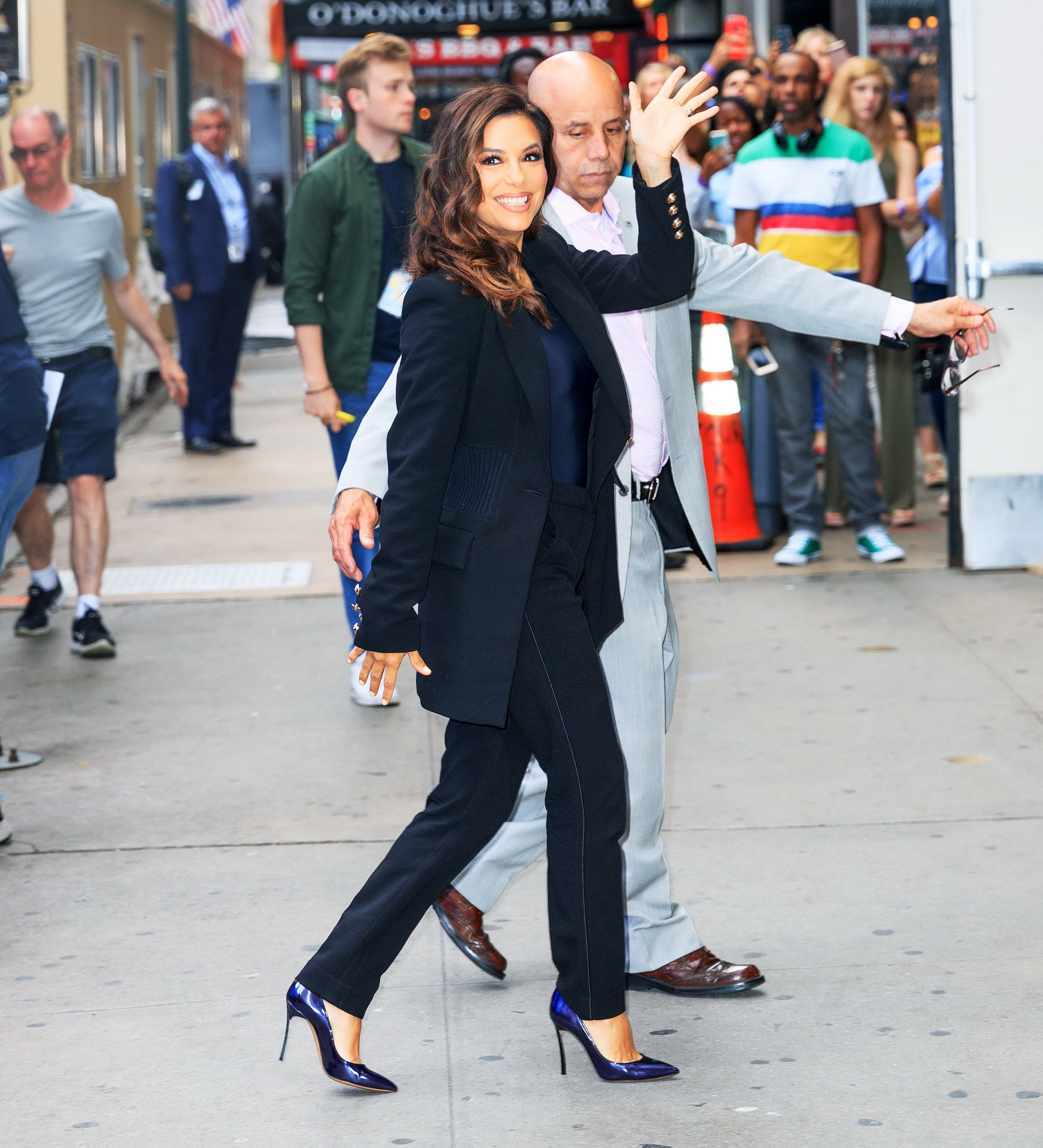 Celebrity Sightings In New York City - June 17, 2019
