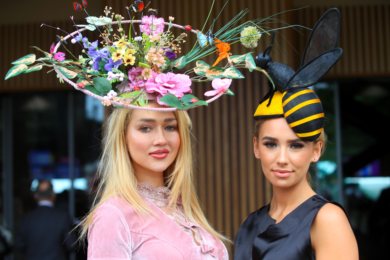 Royal Ascot, sombreros