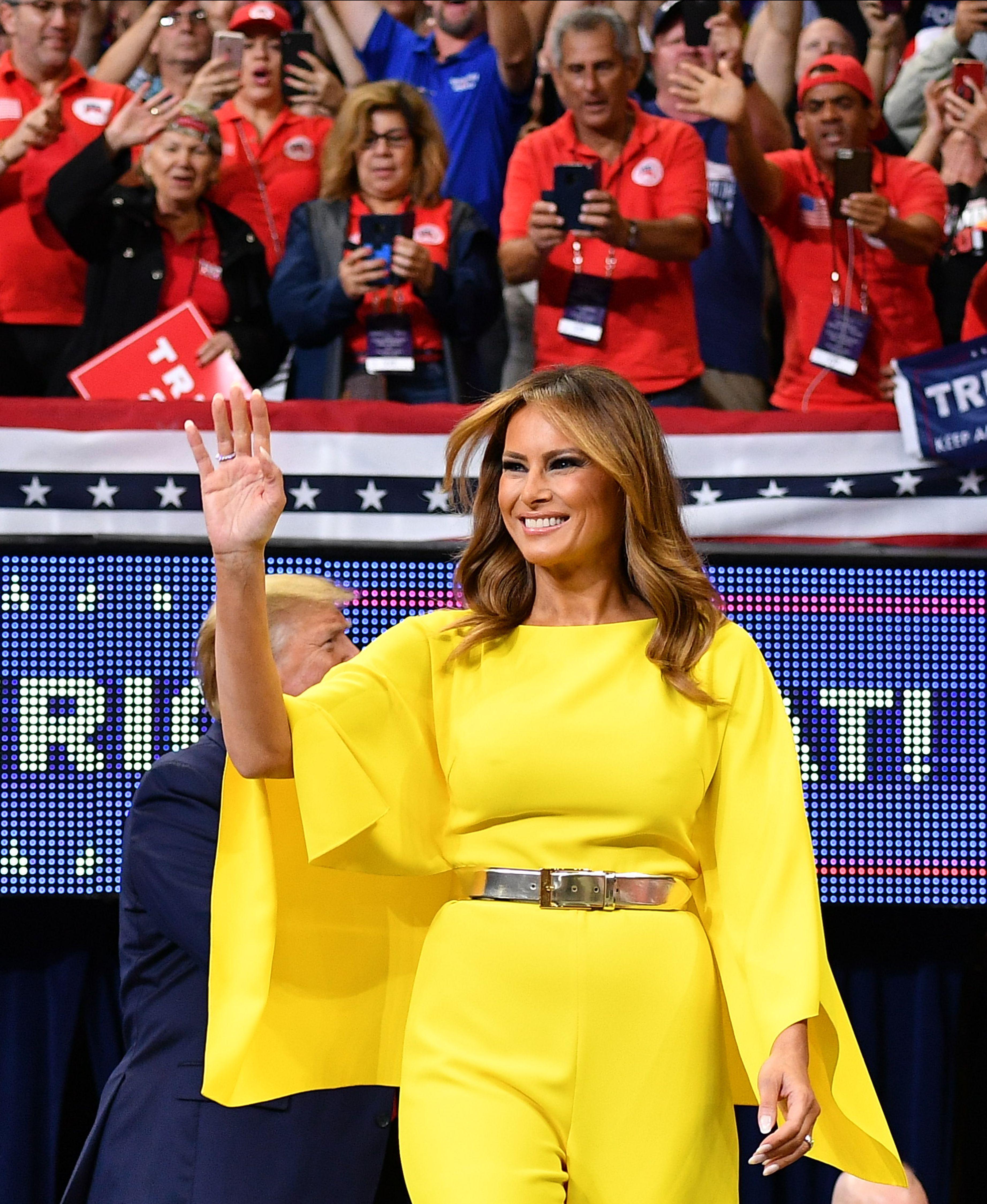 Melania Trump, look, estilo