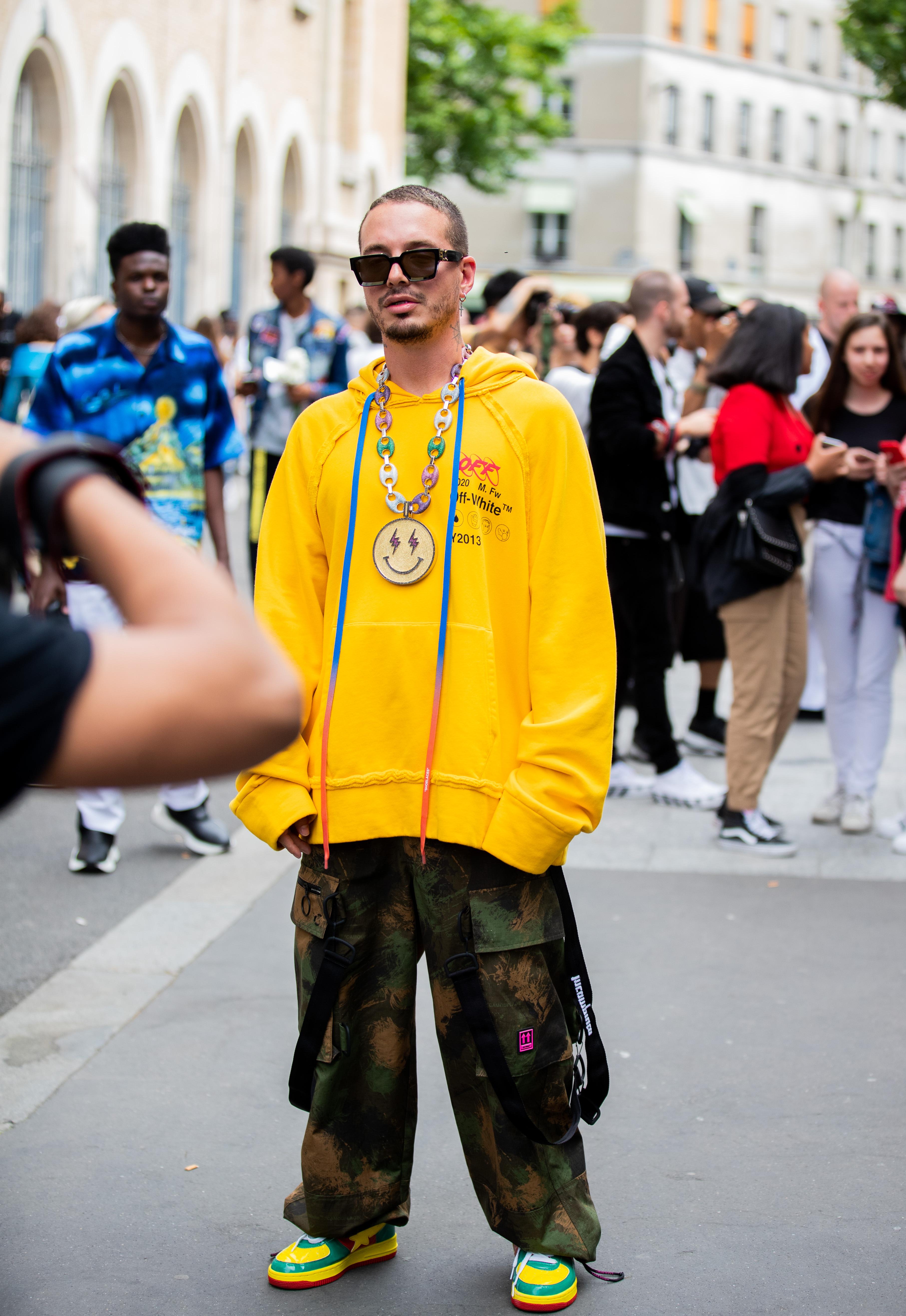 J Balvin, Paris Fashion Week