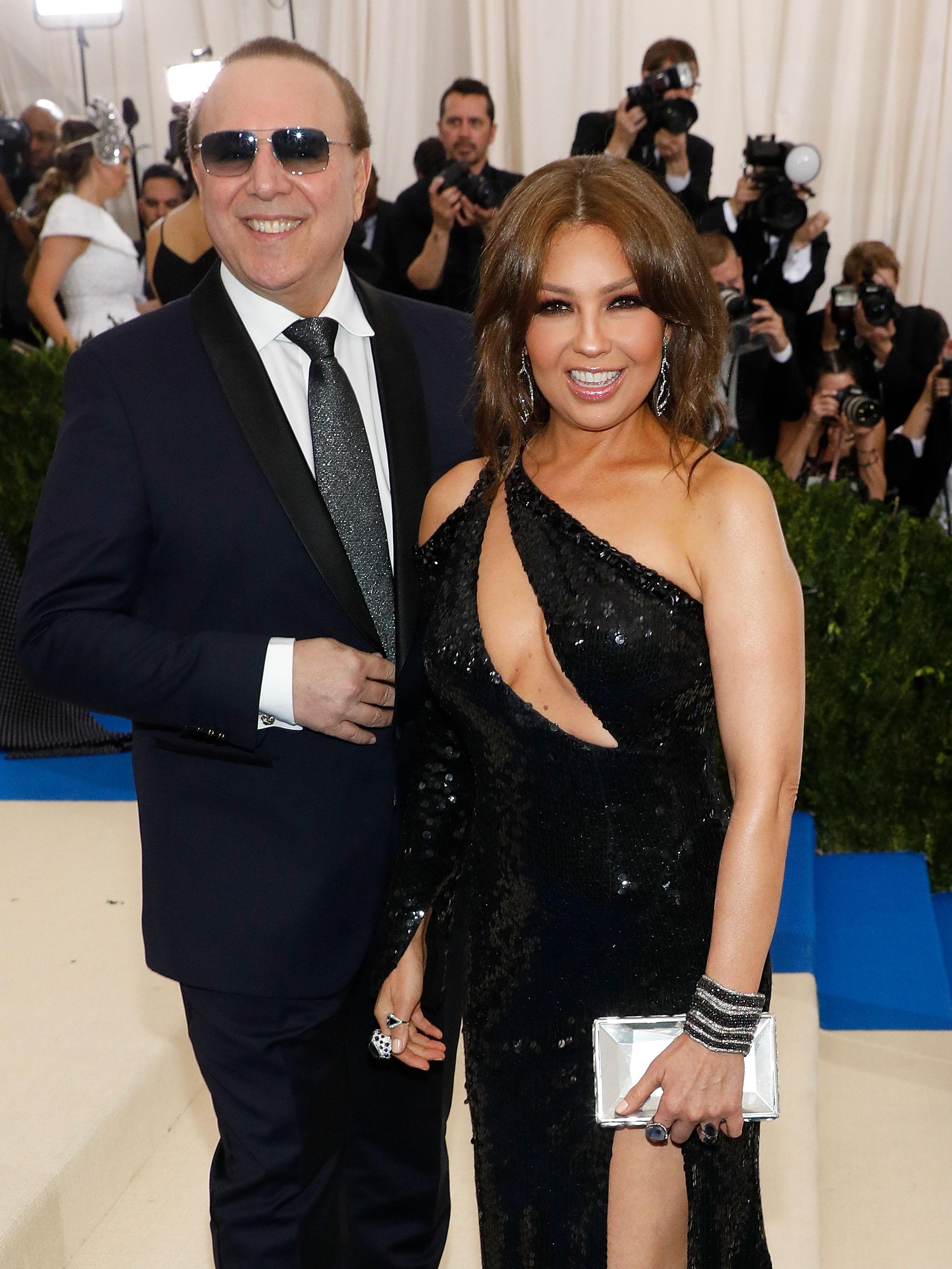 Thalía, Tommy Mottola