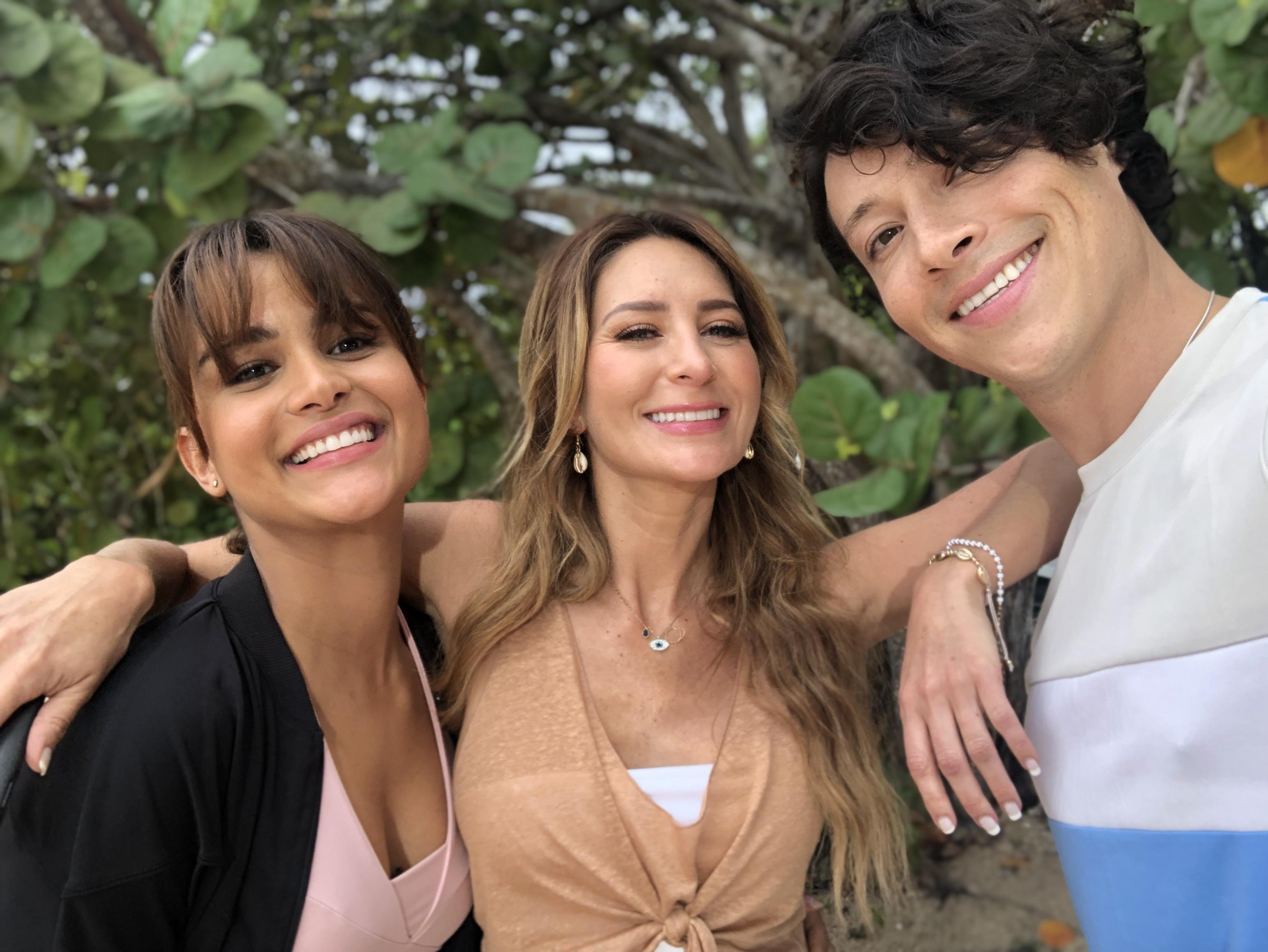 Reynaldo Pacheco, Clarissa Molina, Geraldine Bazán