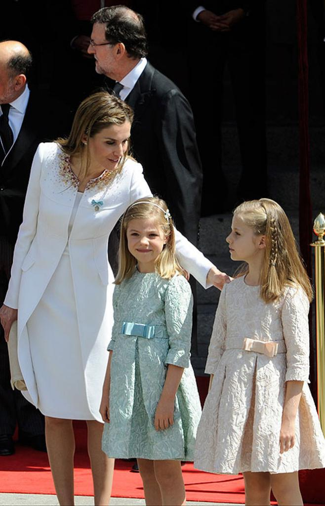 Reina Letizia, Princesa Leonor, Infanta Sofía
