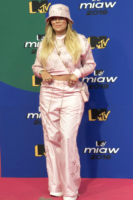 Karol G en premios MTV MIAW 2019.