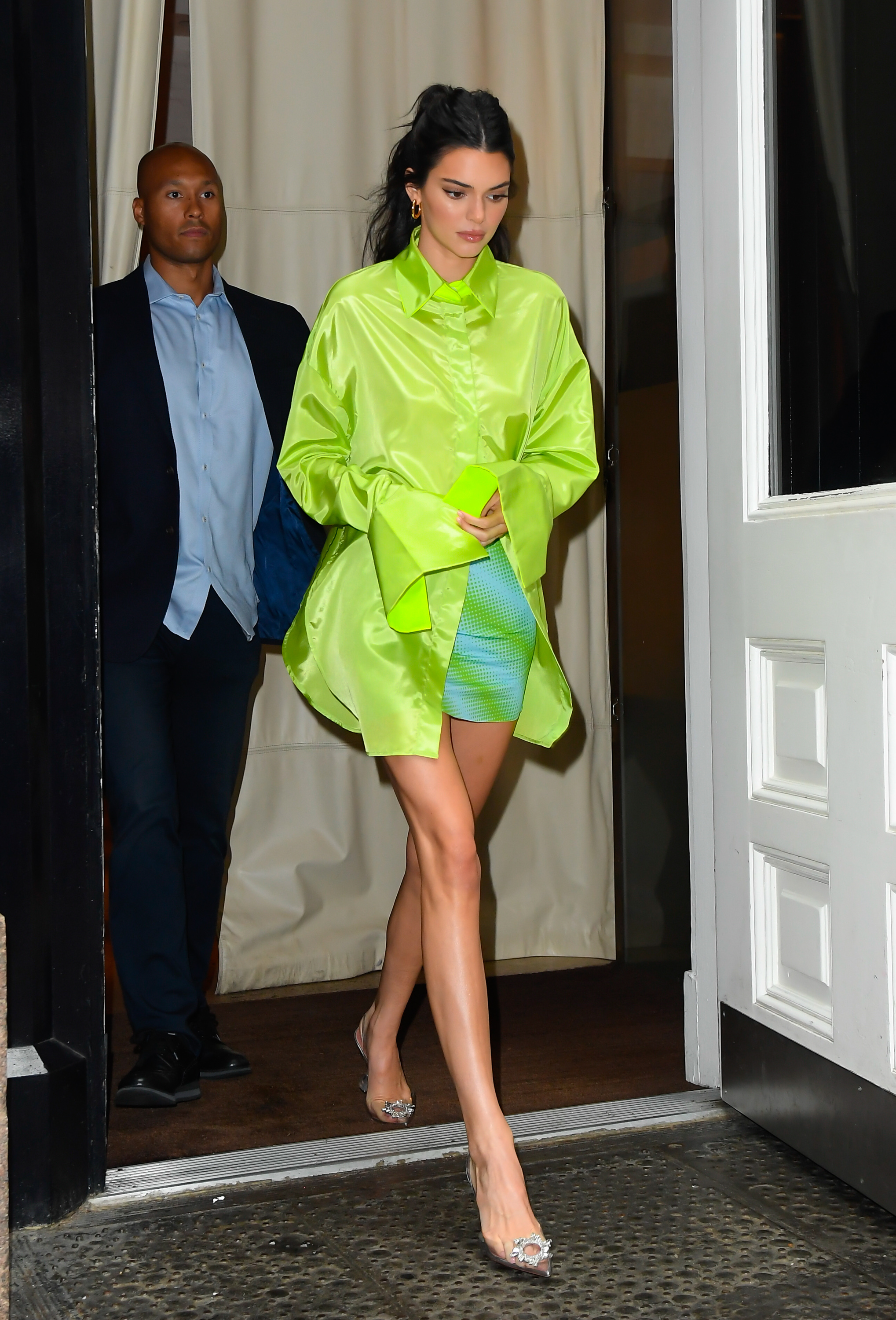 Kendall Jenner, look, neon