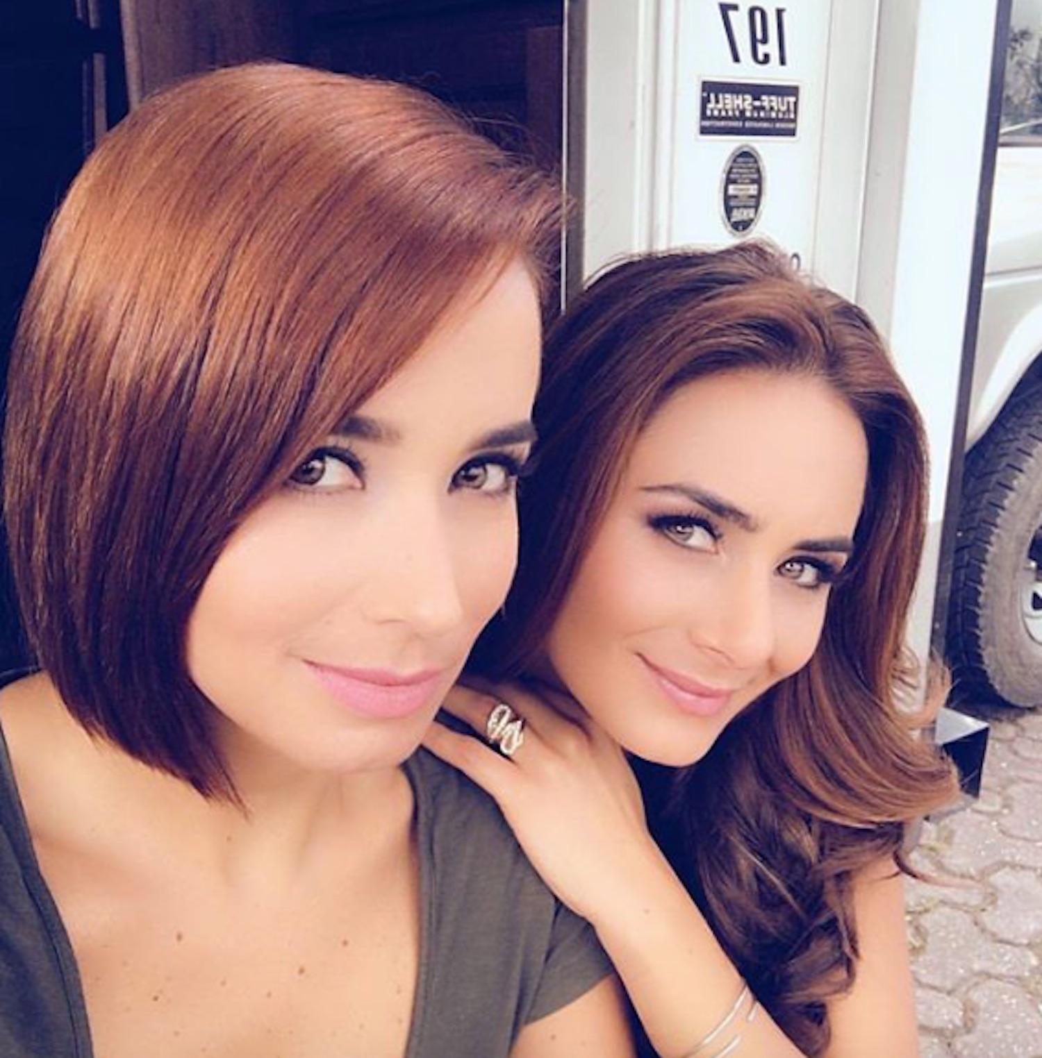 Majida Issa y Johanna Fadul
